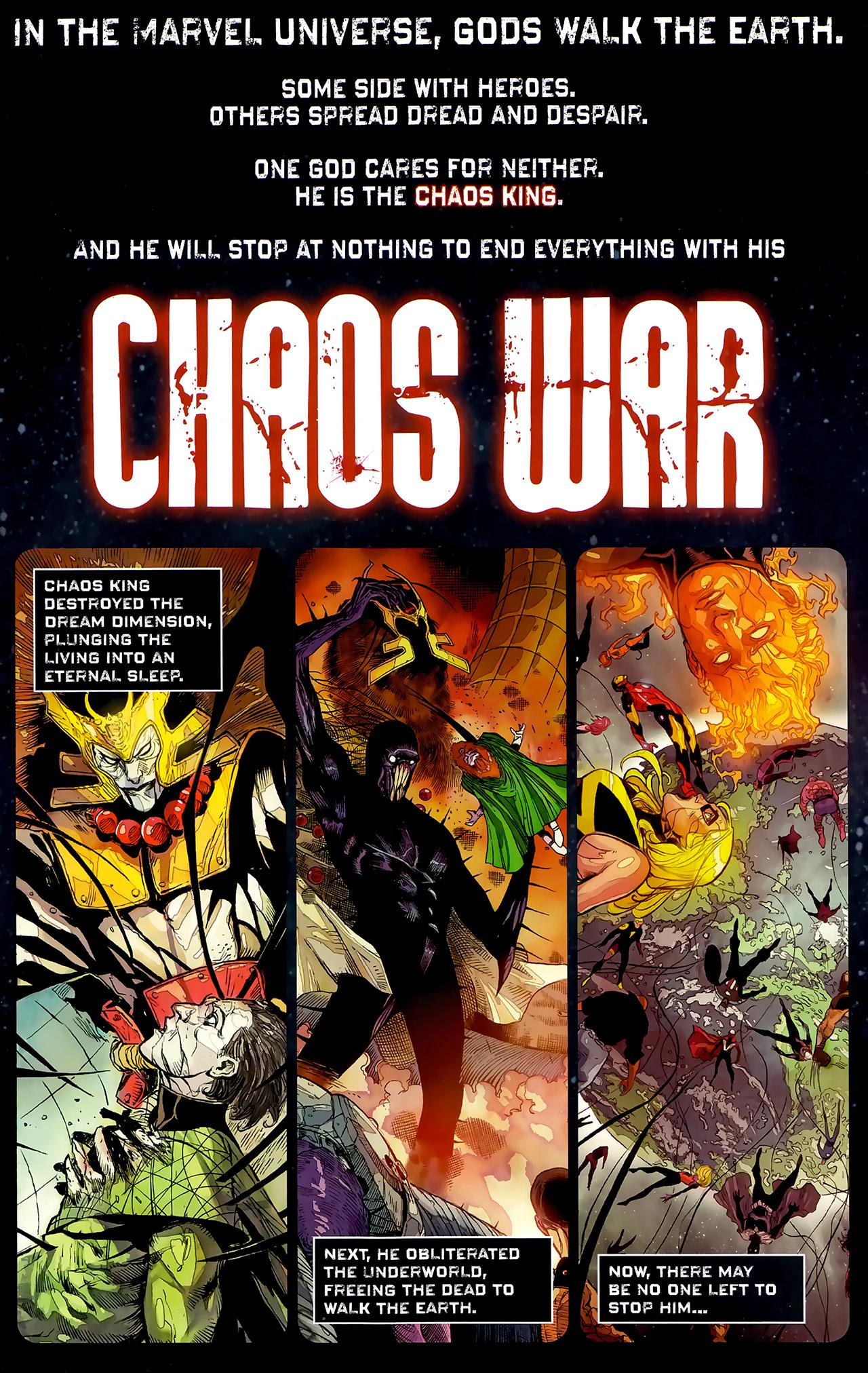 Read online Chaos War: Alpha Flight comic -  Issue # Full - 2