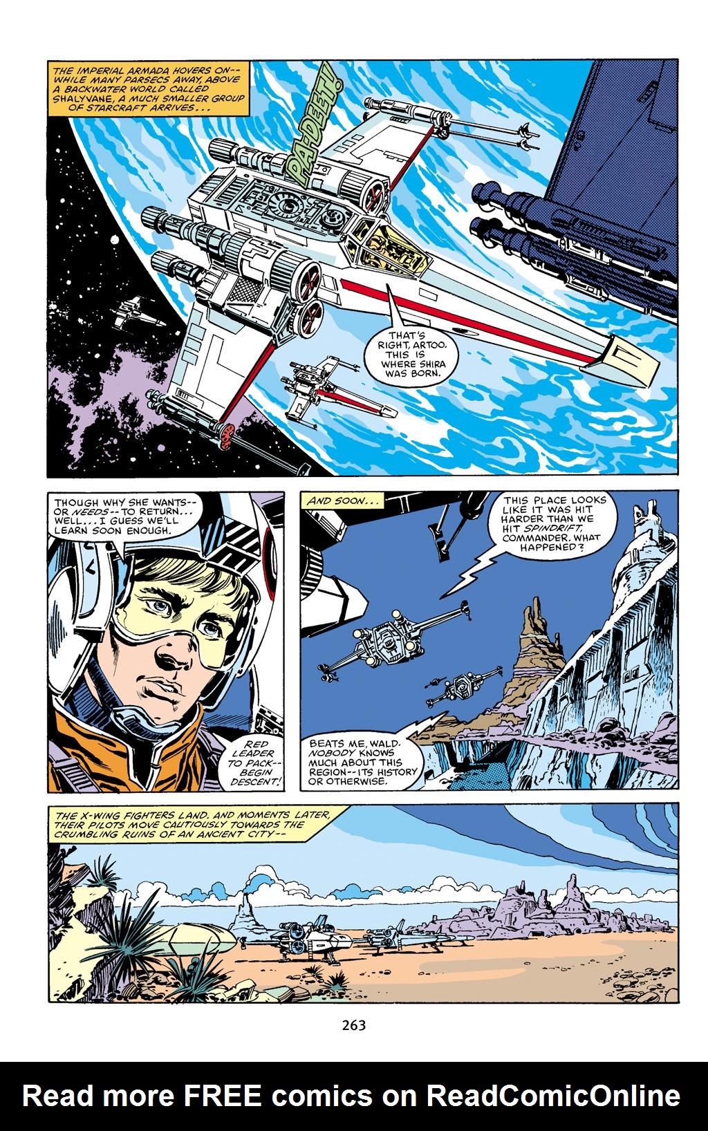 Read online Star Wars Omnibus comic -  Issue # Vol. 16 - 259