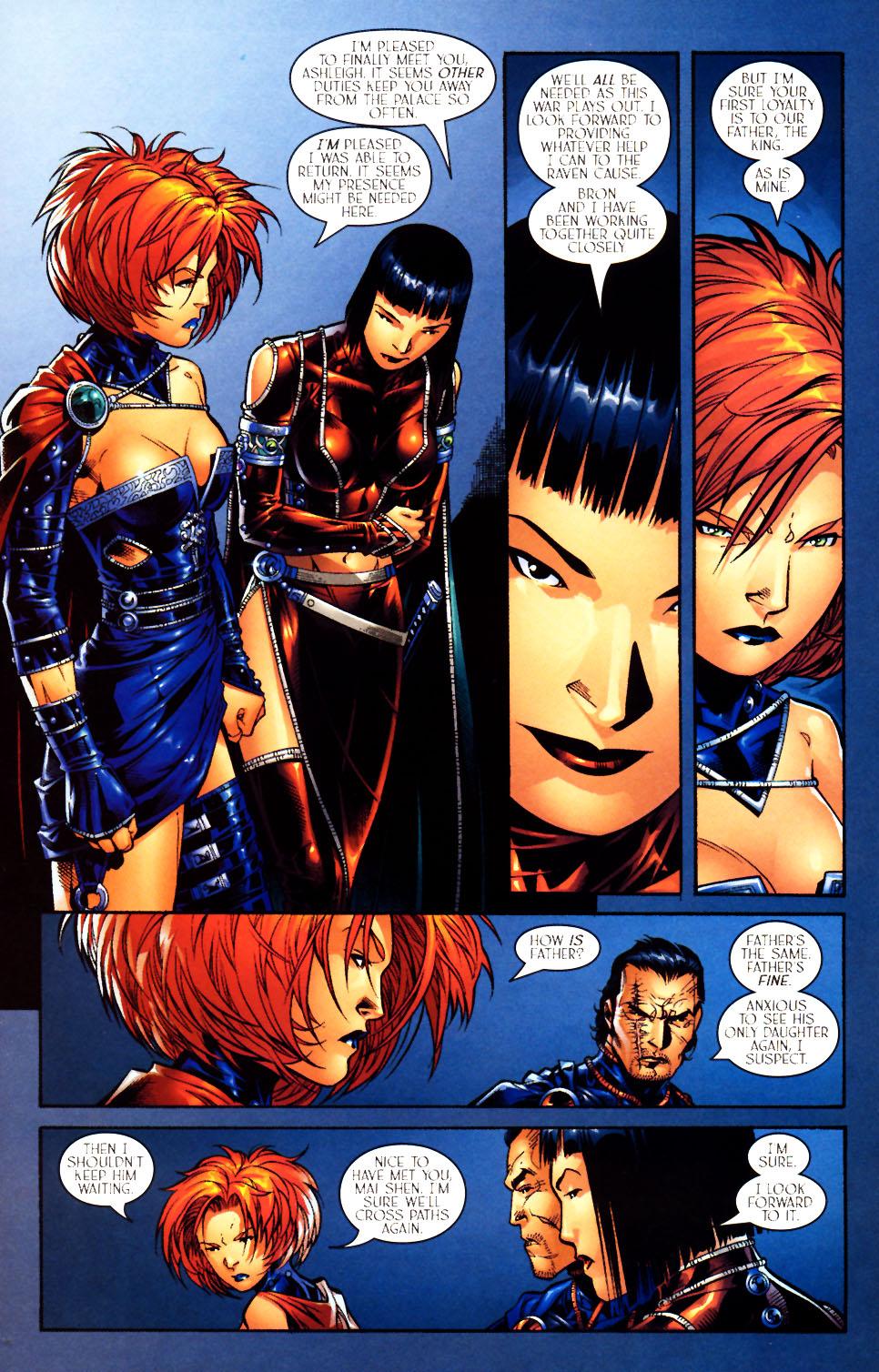 Read online Scion comic -  Issue #10 - 21