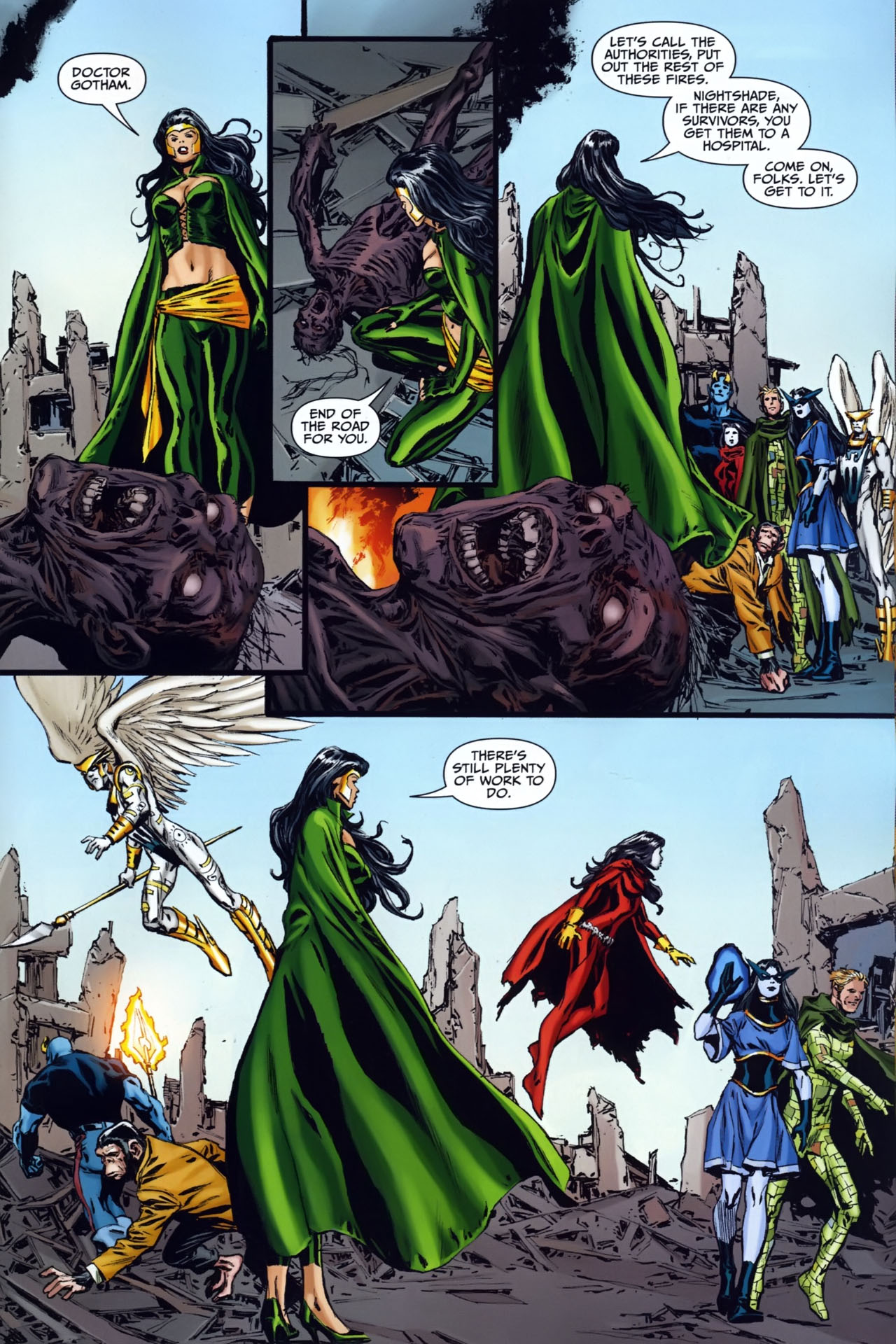 Read online Shadowpact comic -  Issue #25 - 19