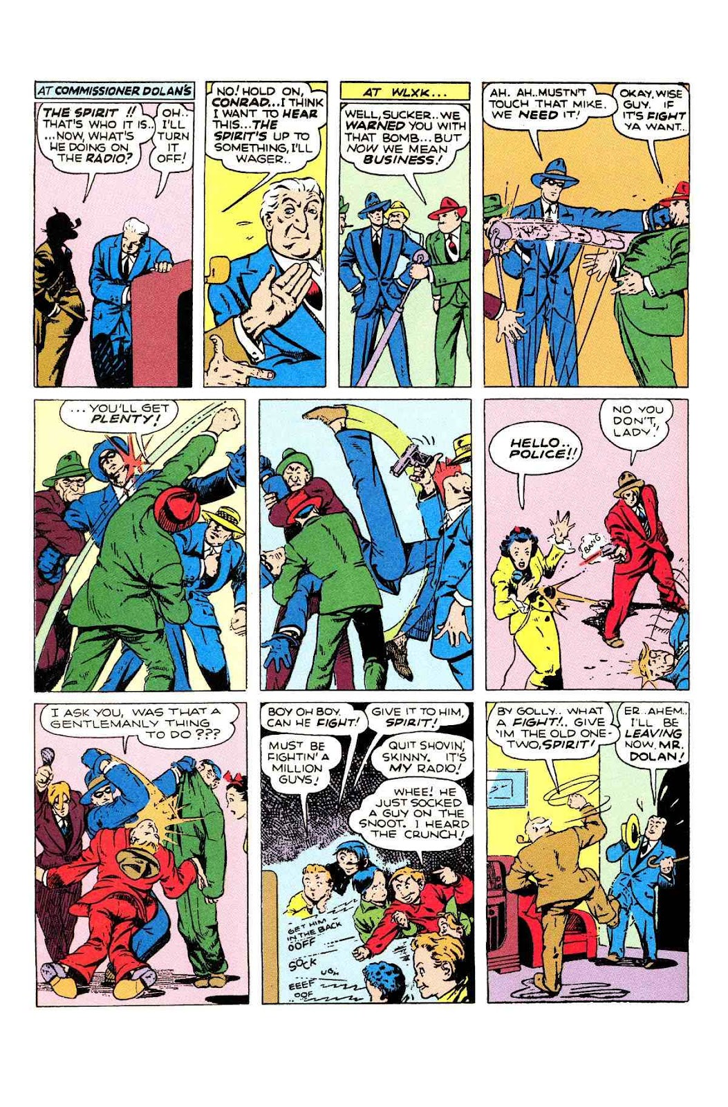 Read online Will Eisner's The Spirit Archives comic -  Issue # TPB 2 (Part 1) - 54
