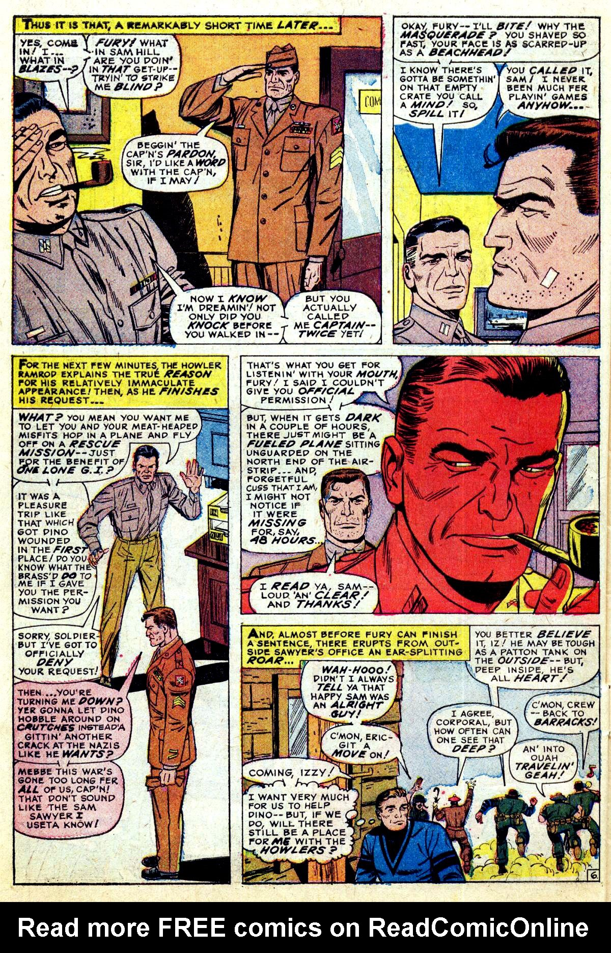 Read online Sgt. Fury comic -  Issue #38 - 10