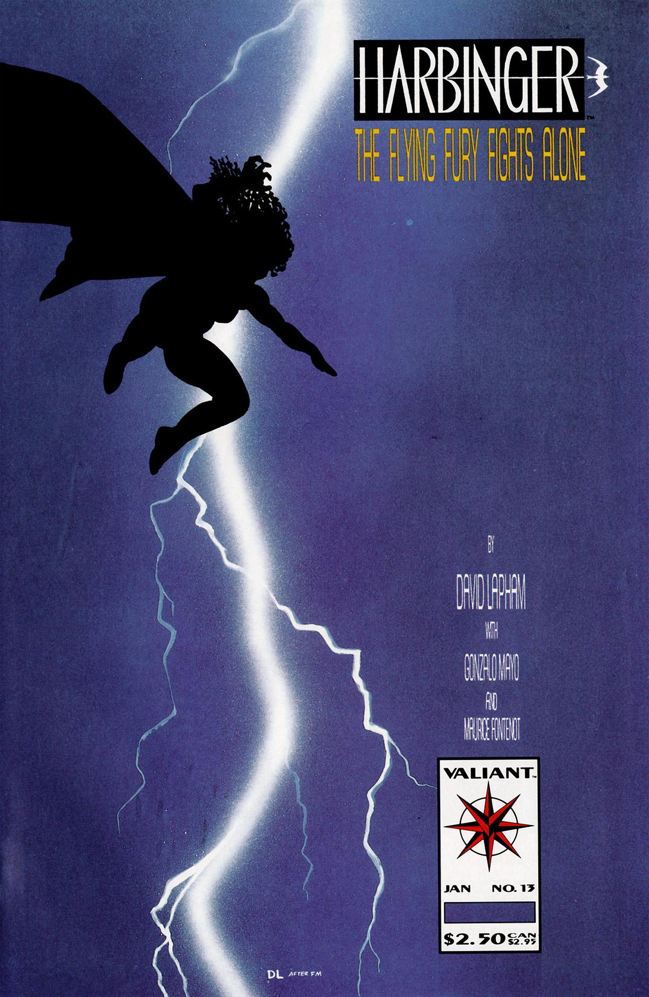 Read online Harbinger (1992) comic -  Issue #13 - 1
