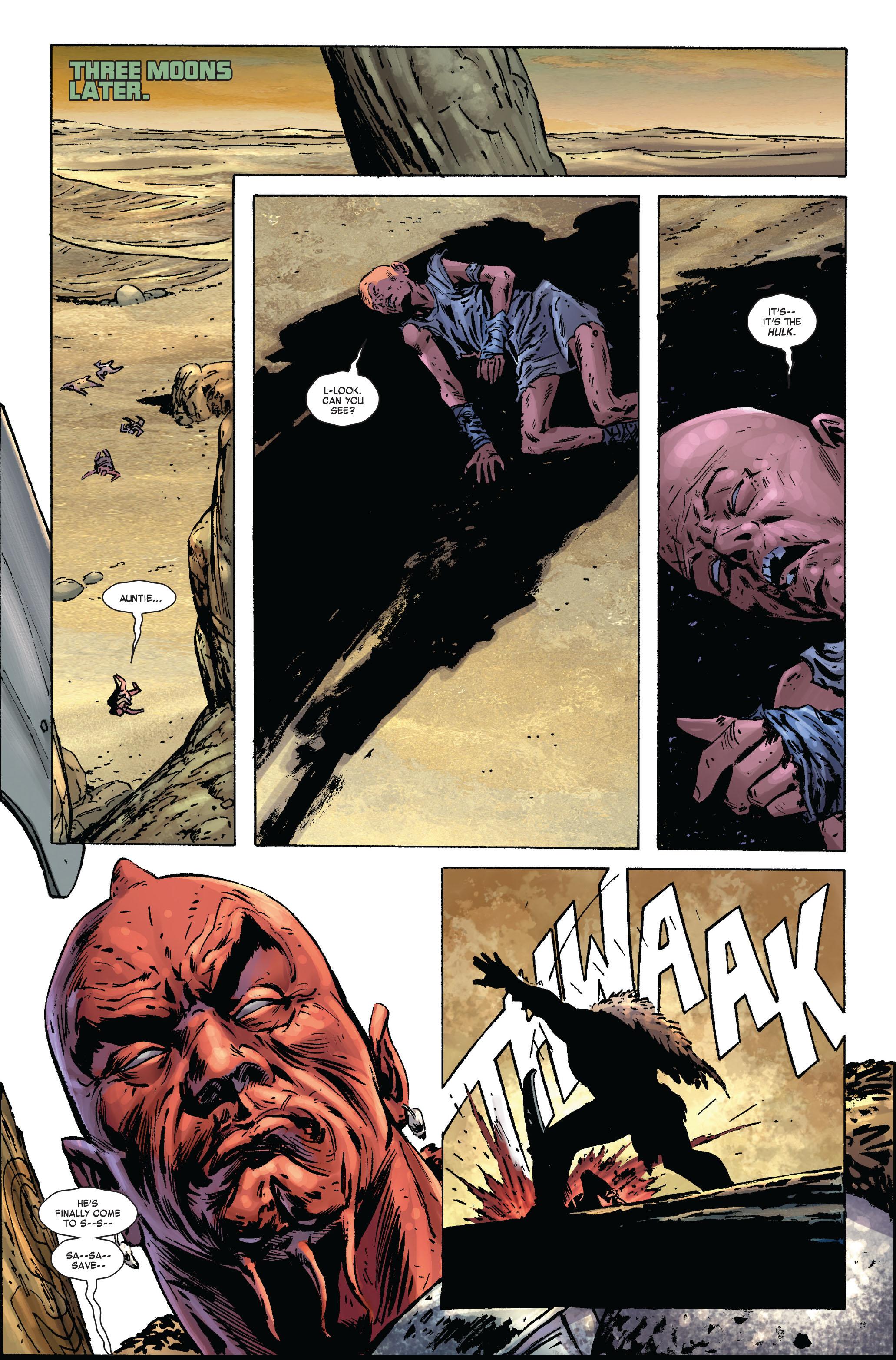 Read online Skaar: Son of Hulk comic -  Issue #2 - 24