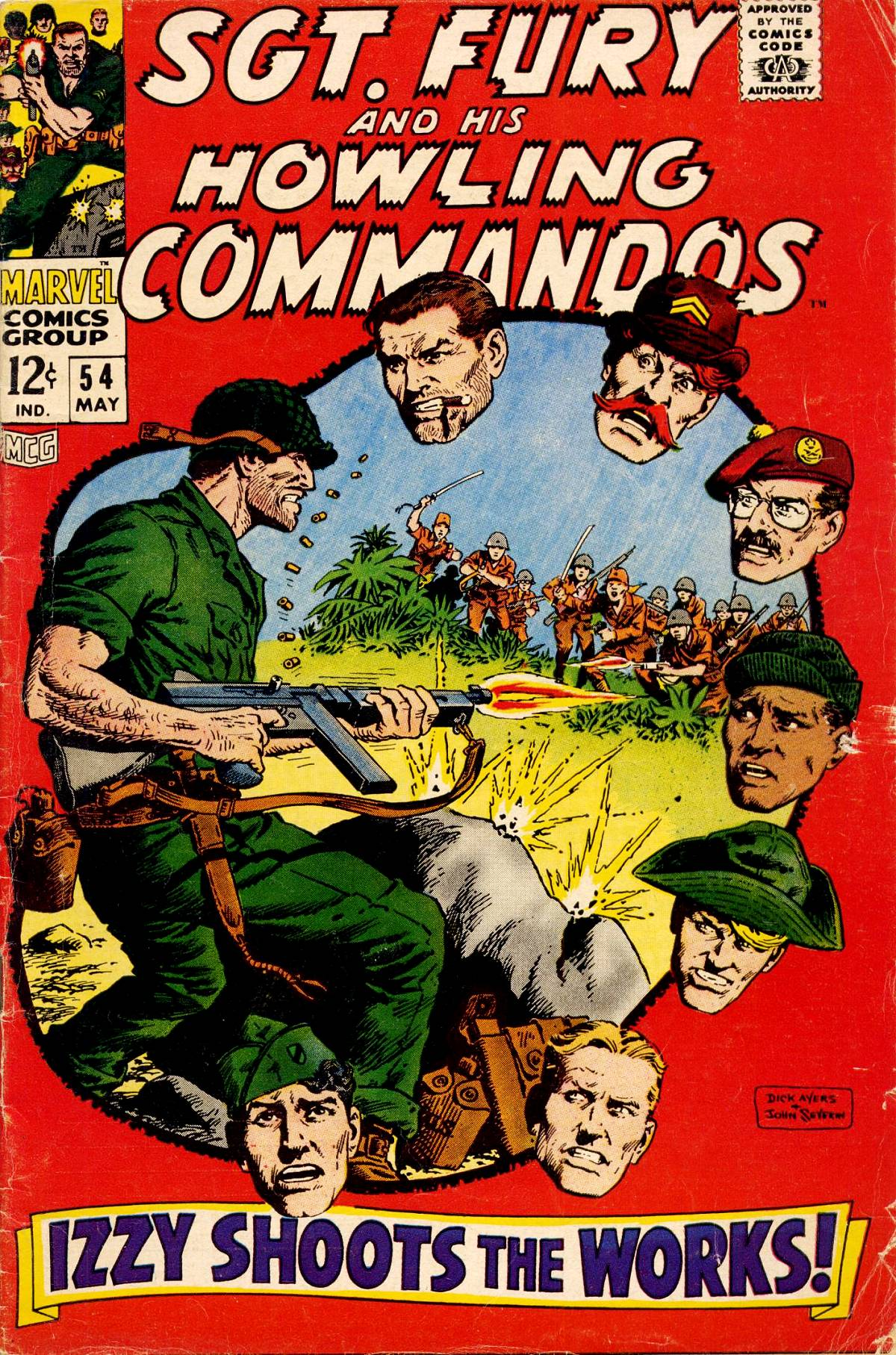 Read online Sgt. Fury comic -  Issue #54 - 1