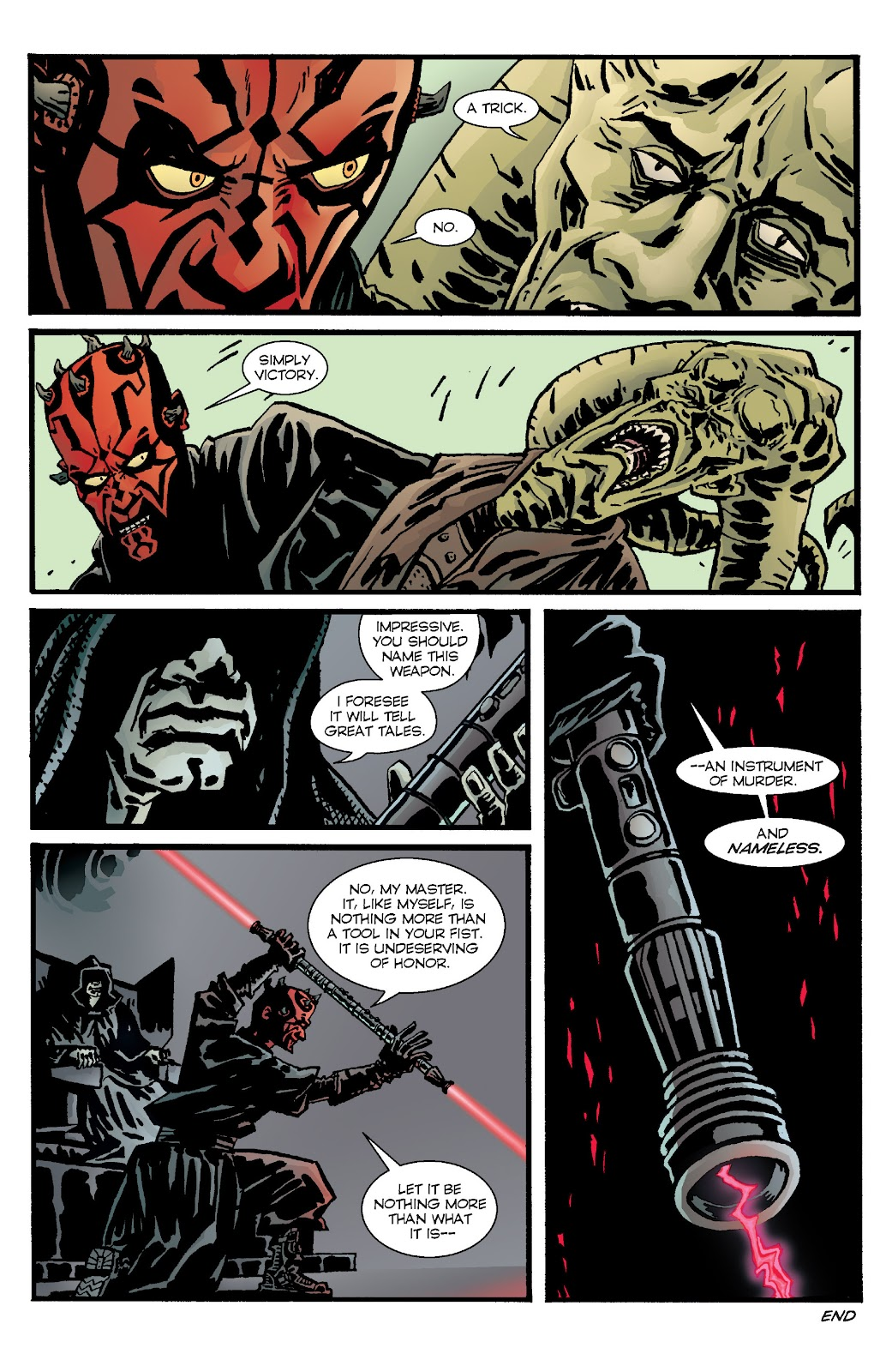 Read online Star Wars Legends: Rise of the Sith - Epic Collection comic -  Issue # TPB 1 (Part 4) - 53