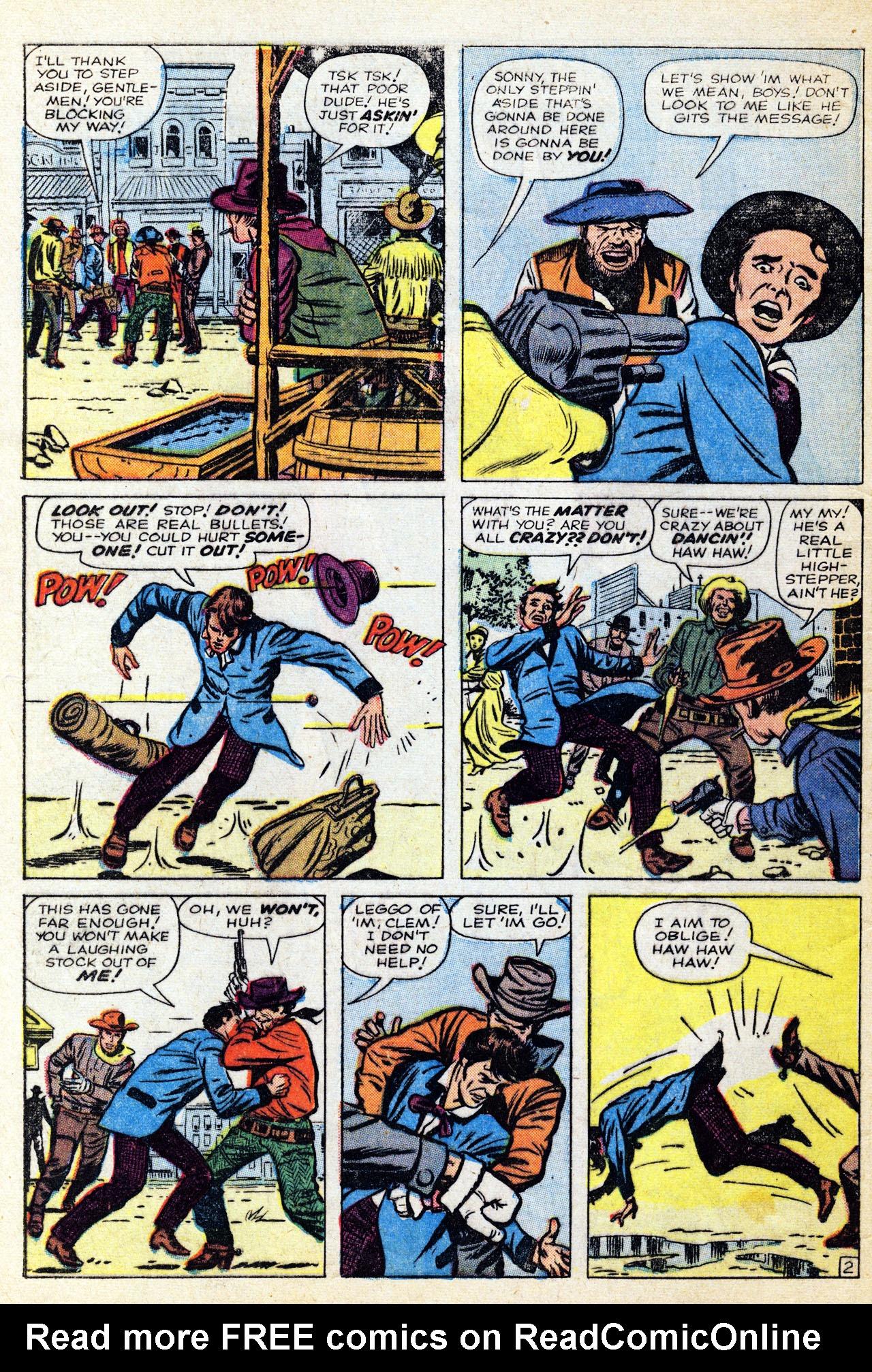 Read online Two-Gun Kid comic -  Issue #60 - 4