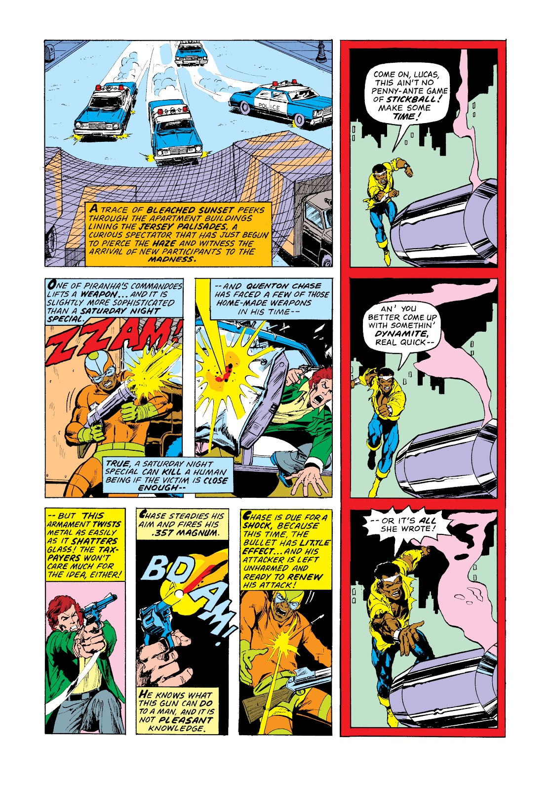 Read online Marvel Masterworks: Luke Cage, Power Man comic -  Issue # TPB 2 (Part 3) - 80