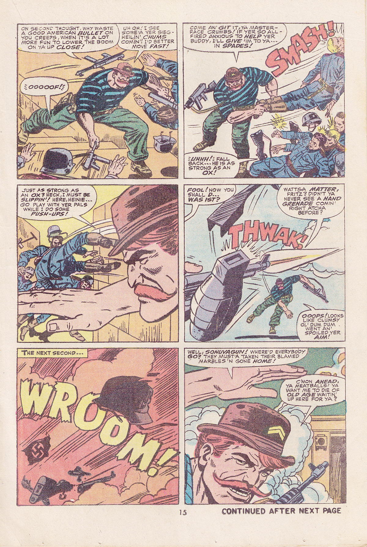Read online Sgt. Fury comic -  Issue #113 - 17