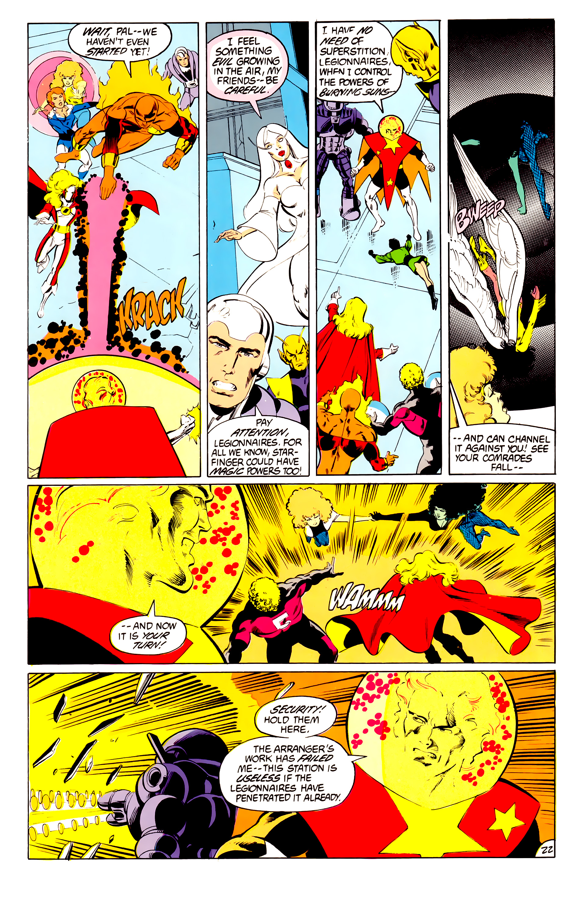 Legion of Super-Heroes (1984) 41 Page 22