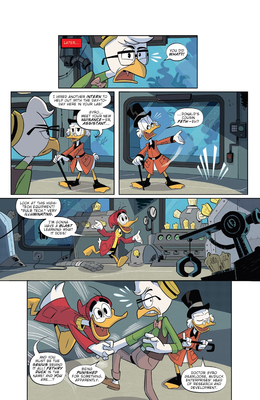 Read online Ducktales (2017) comic -  Issue #20 - 4