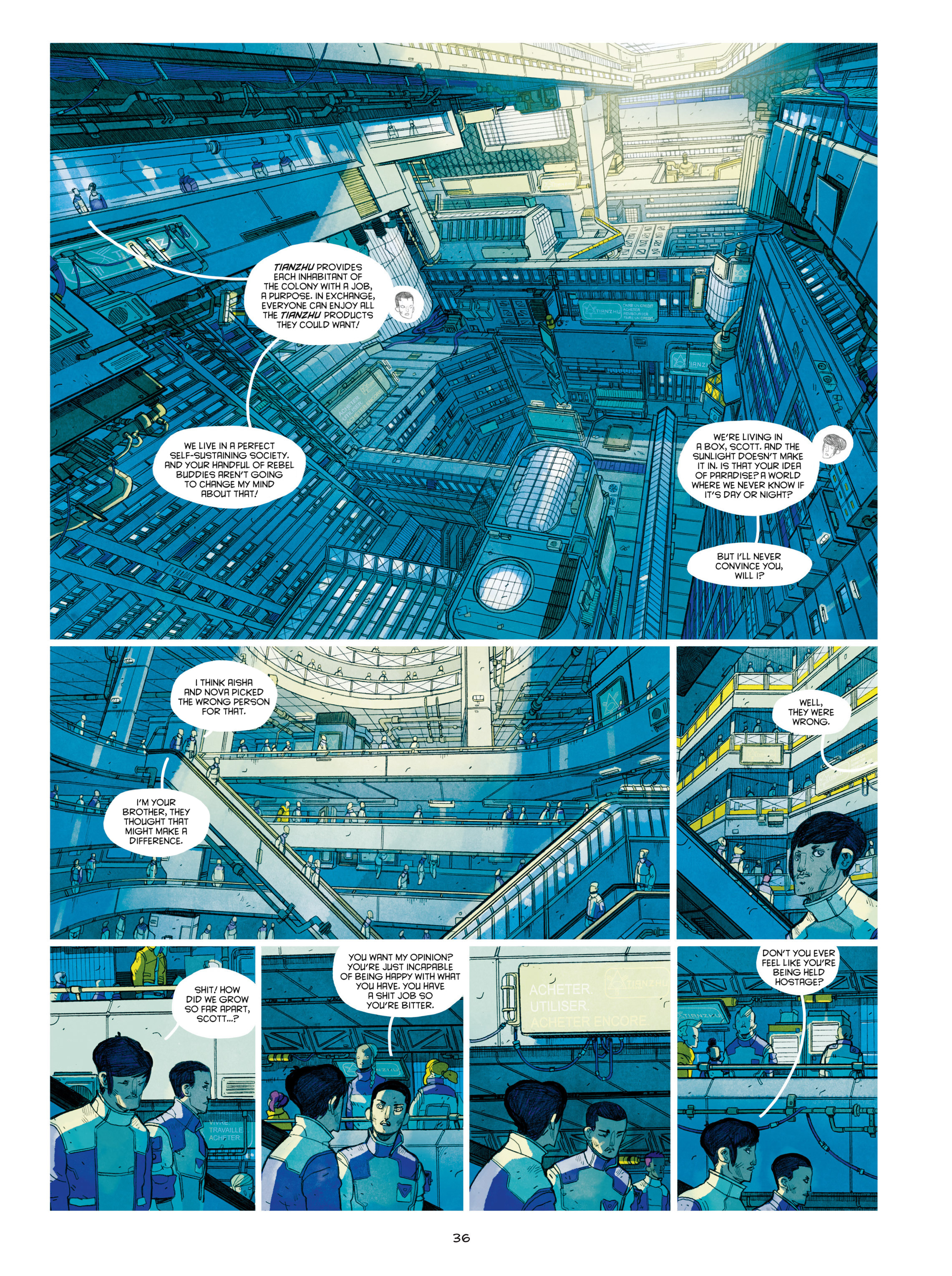 Read online Shangri-La comic -  Issue # Full - 38