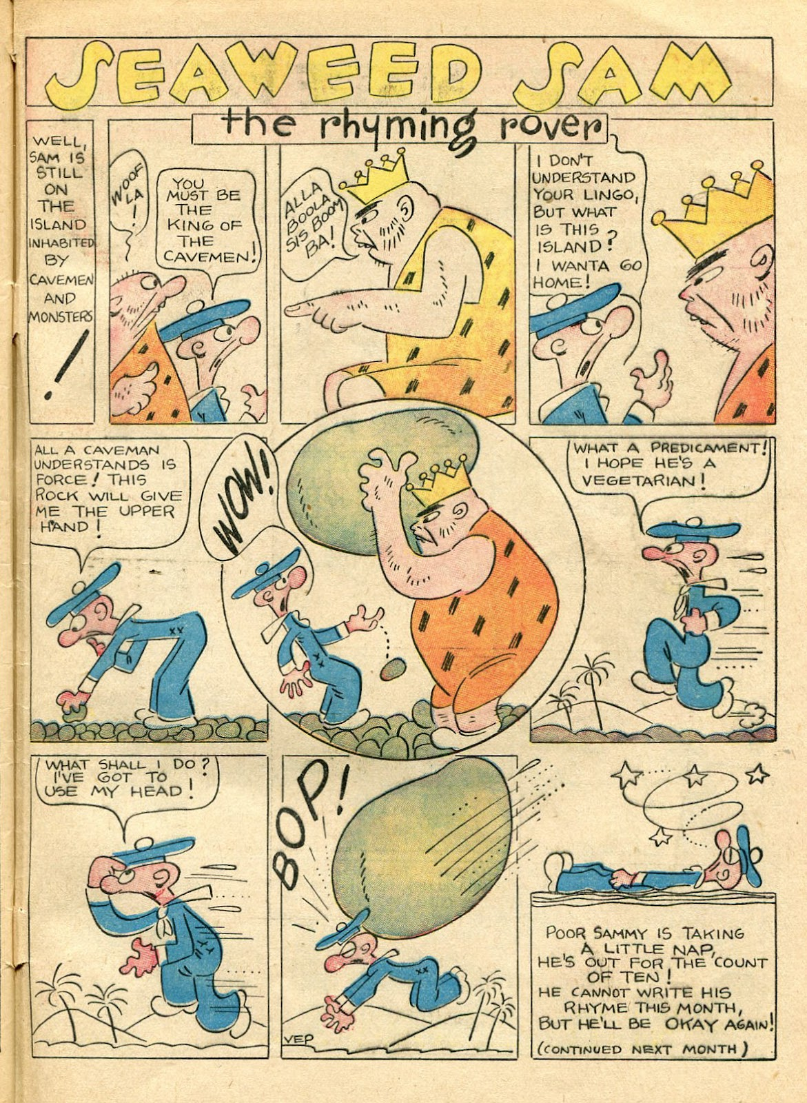 Read online Famous Funnies comic -  Issue #33 - 65