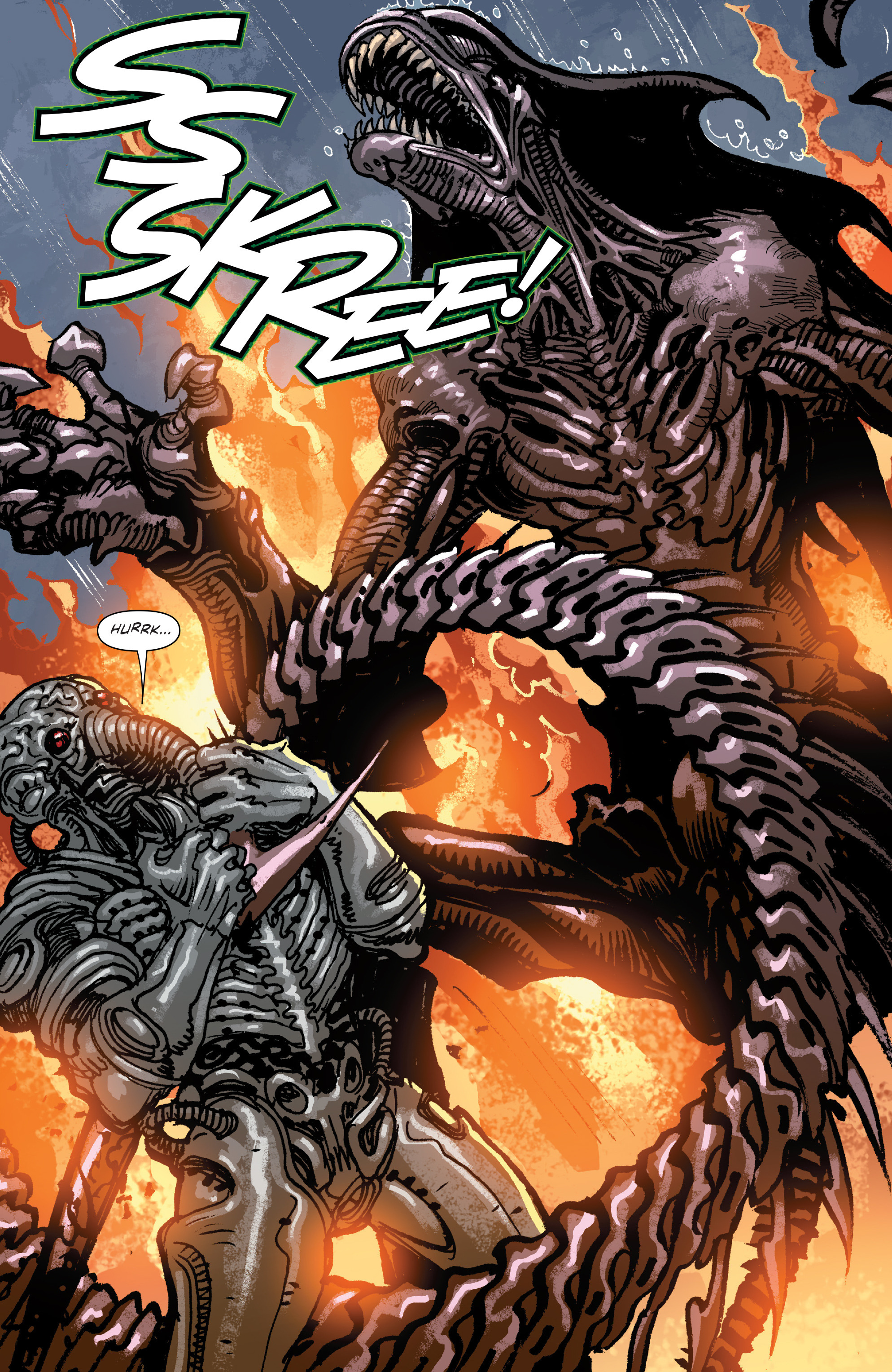 Read online Aliens: Life And Death comic -  Issue #4 - 22