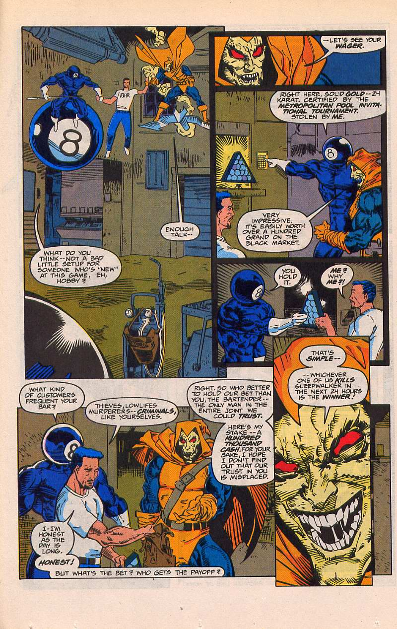 Read online Sleepwalker comic -  Issue #21 - 9