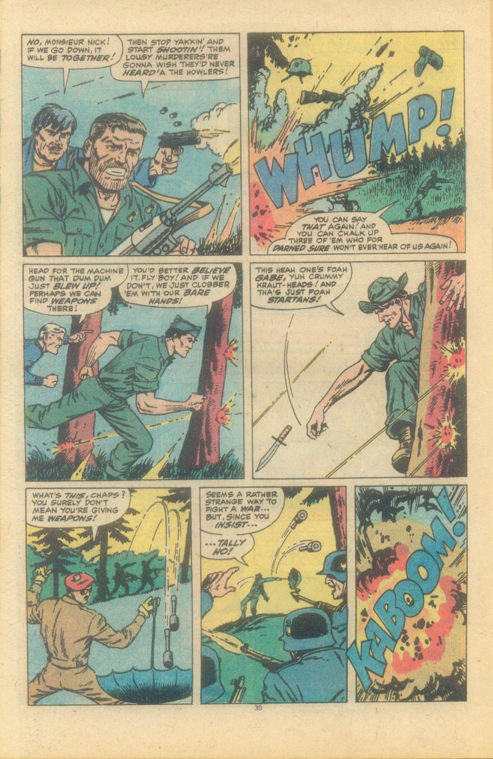 Read online Sgt. Fury comic -  Issue #150 - 32