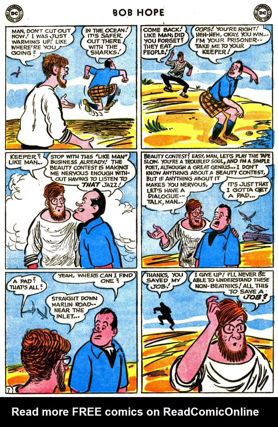 The Adventures of Bob Hope issue 72 - Page 9