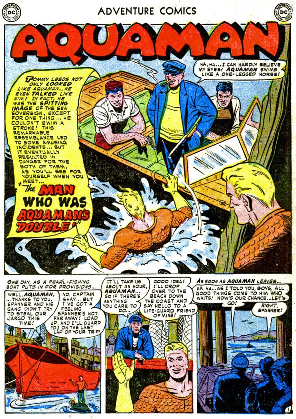 Read online Adventure Comics (1938) comic -  Issue #177 - 17