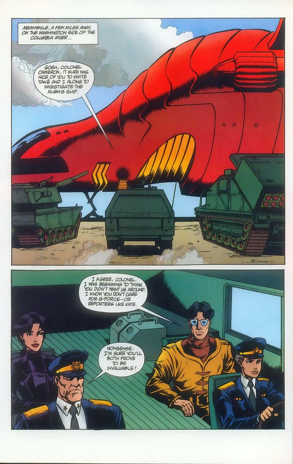 Godzilla (1995) Issue #7 #8 - English 7