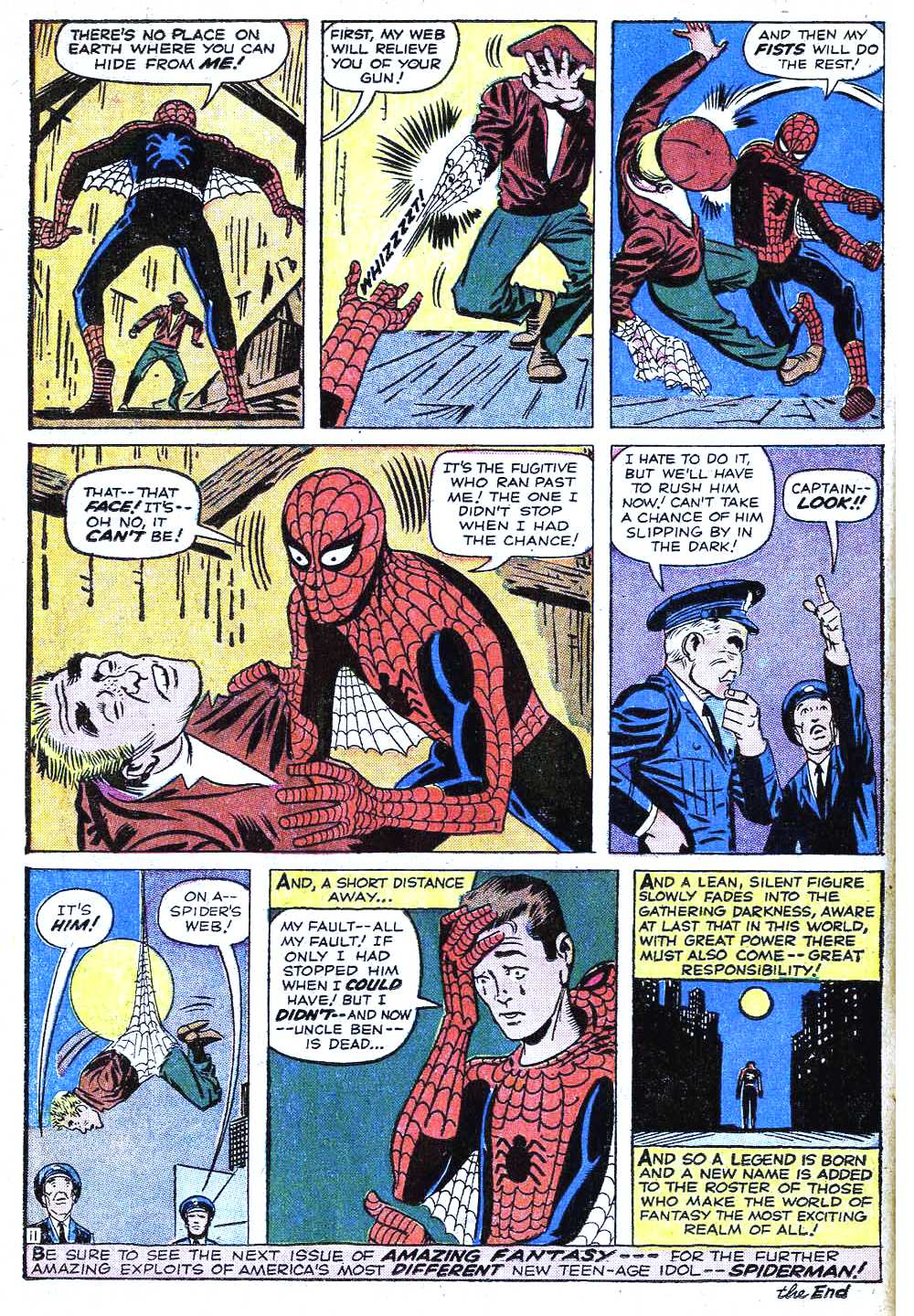 Read online Amazing Fantasy (1962) comic -  Issue #15 - 14