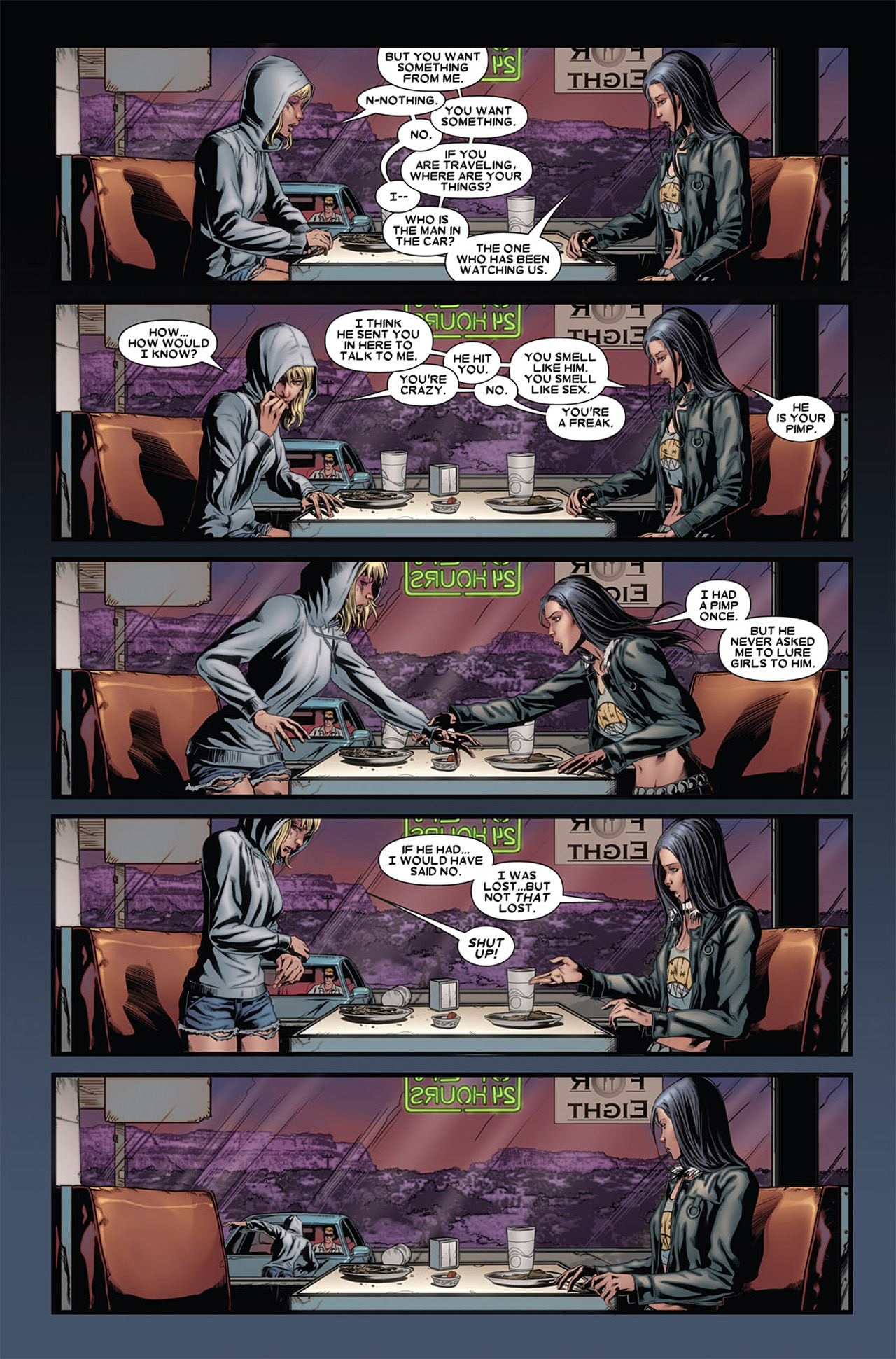 Read online X-23 (2010) comic -  Issue #4 - 8