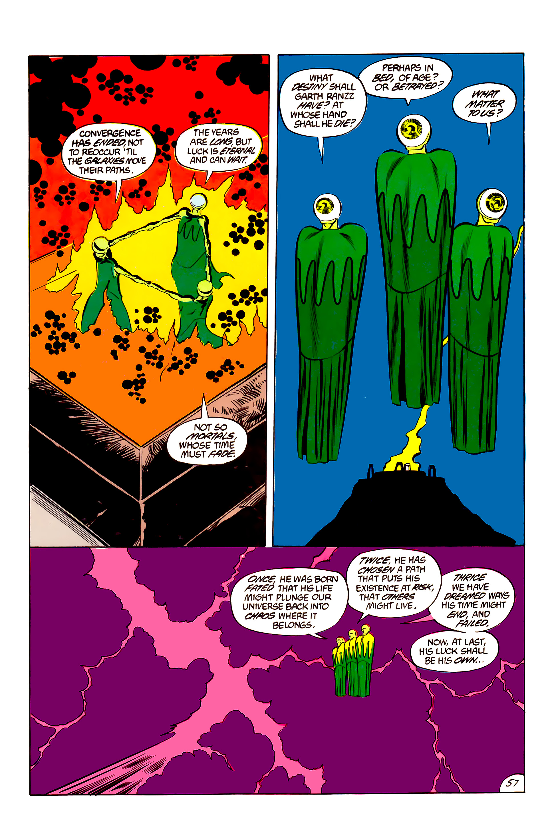 Legion of Super-Heroes (1984) 45 Page 56