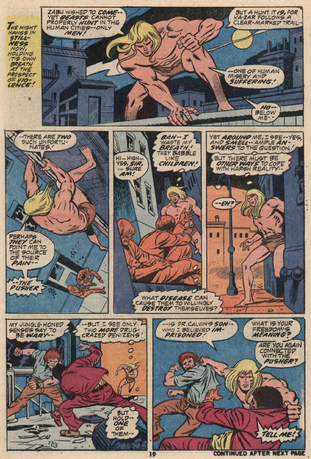Read online Astonishing Tales (1970) comic -  Issue #16 - 14