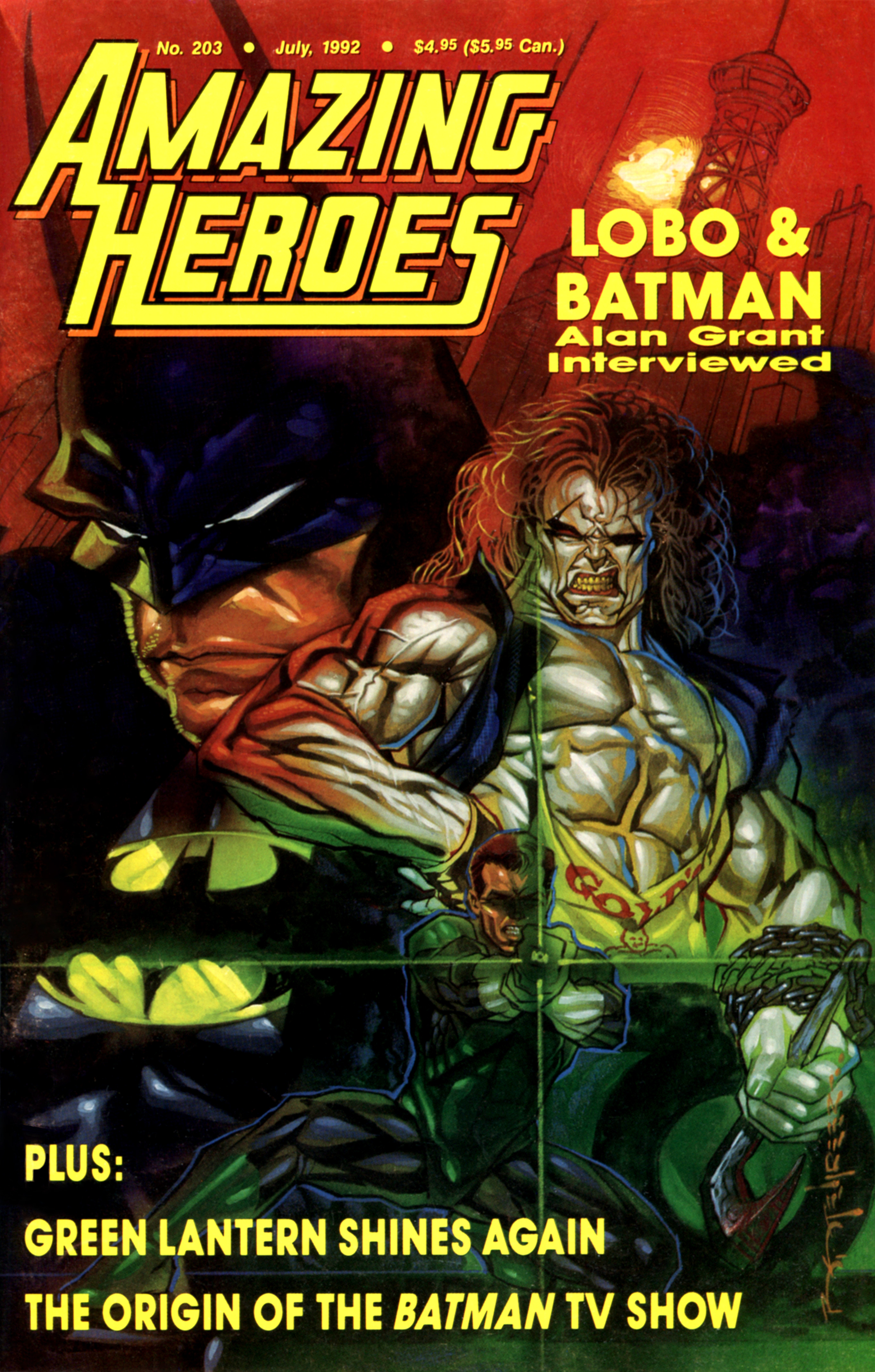 Read online Amazing Heroes comic -  Issue #203 - 1