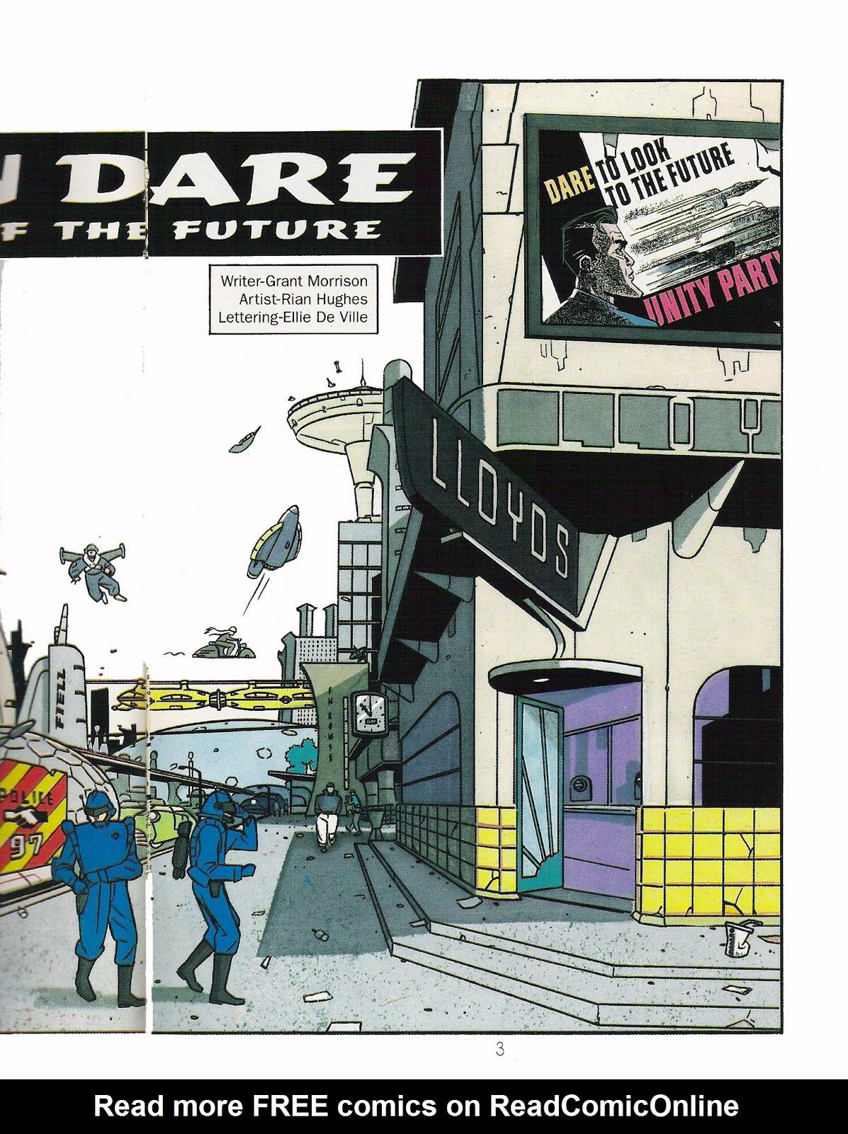Read online Dare comic -  Issue #1 - 5