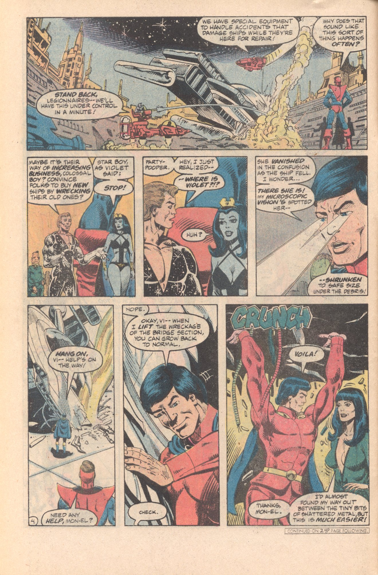Legion of Super-Heroes (1980) 285 Page 4