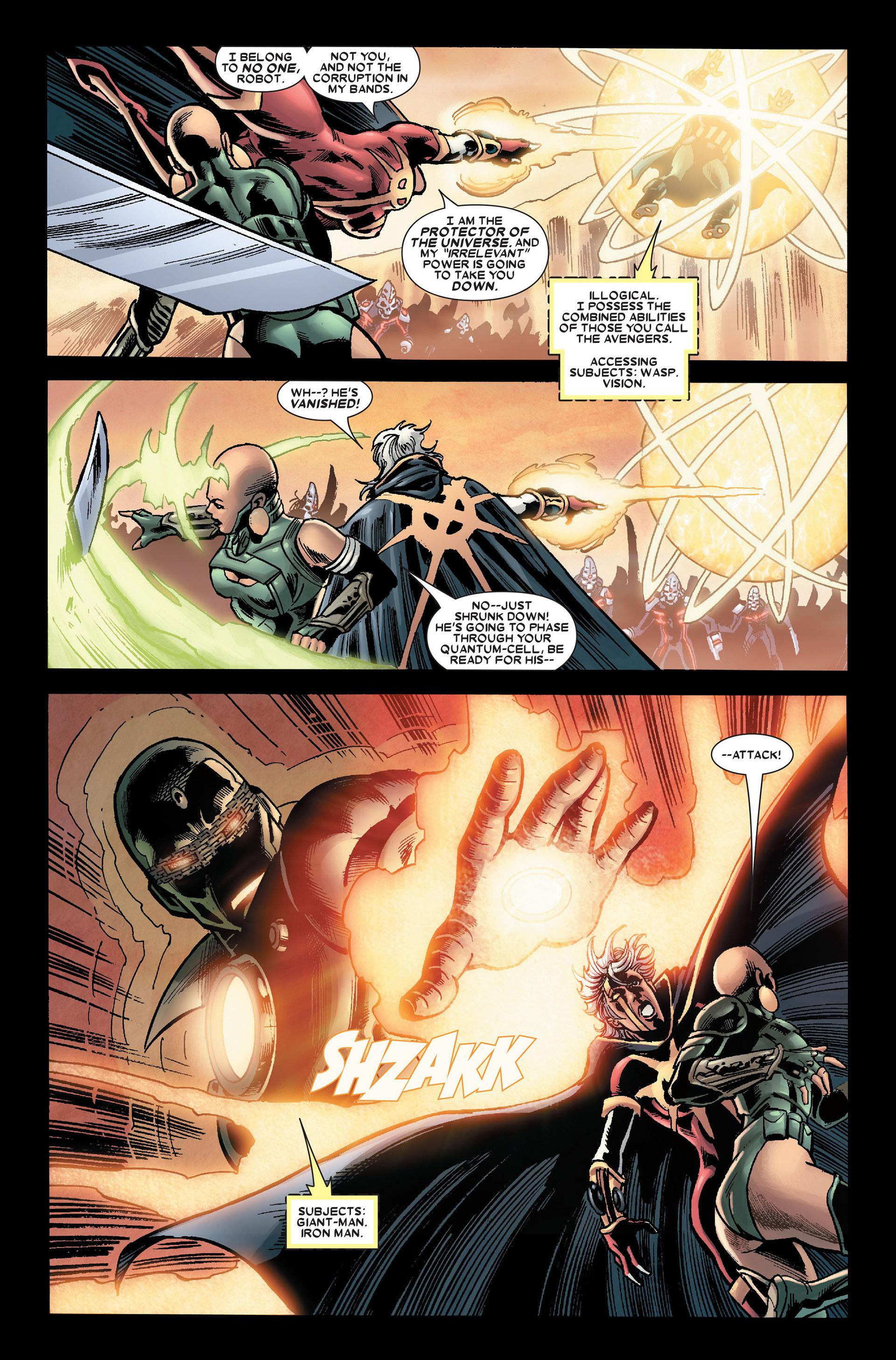 Read online Annihilation: Conquest - Quasar comic -  Issue #2 - 18