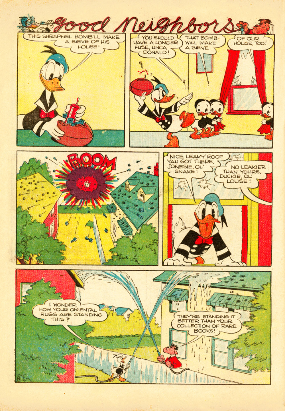 Walt Disney's Comics and Stories issue 38 - Page 10