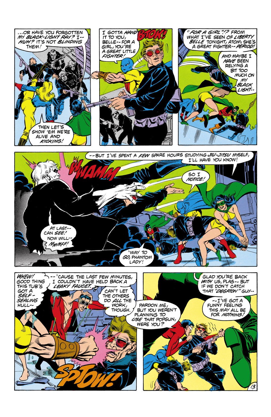 Read online All-Star Squadron comic -  Issue #3 - 14