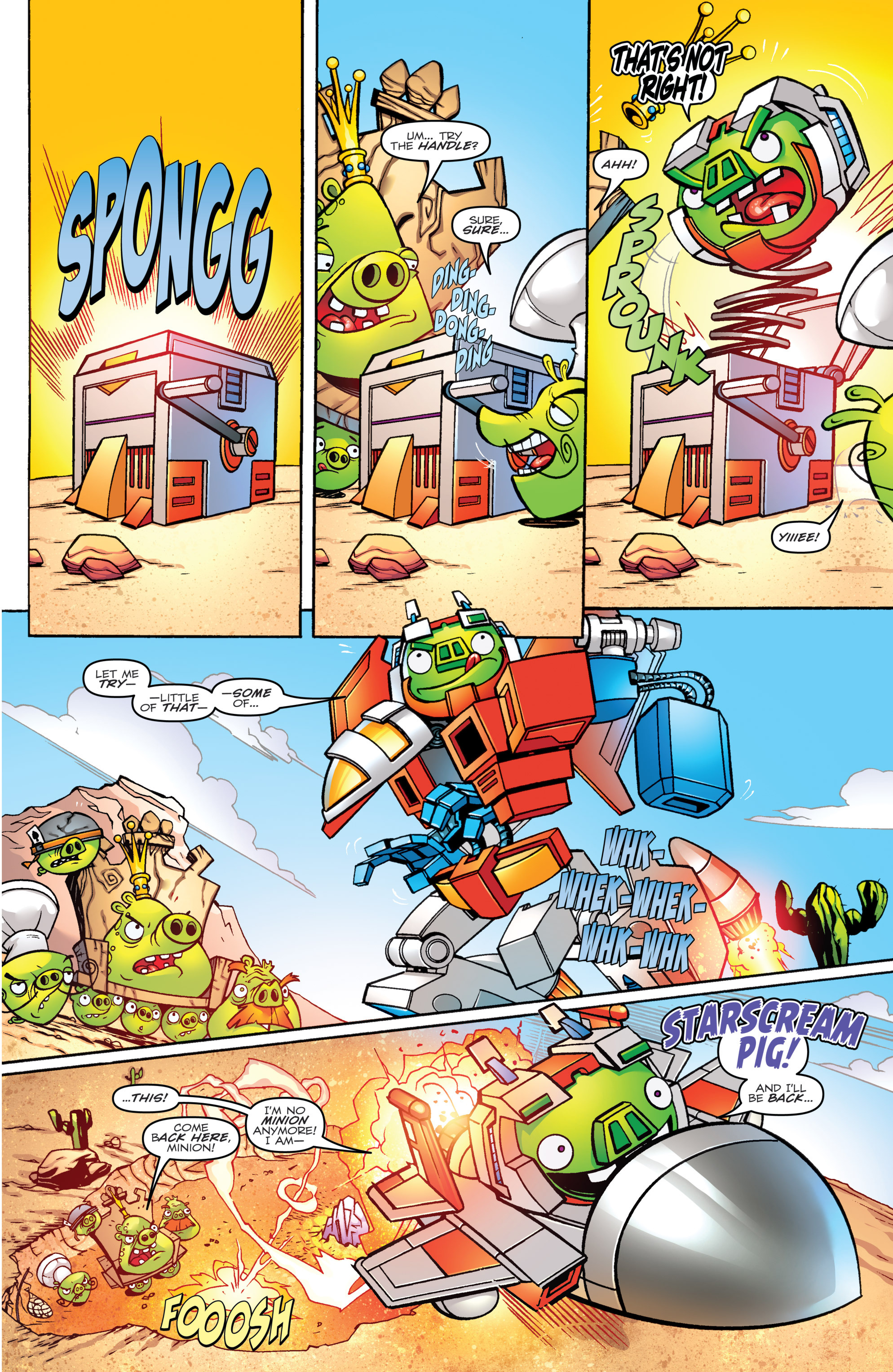 Read online Angry Birds Transformers comic -  Issue #1 - 15