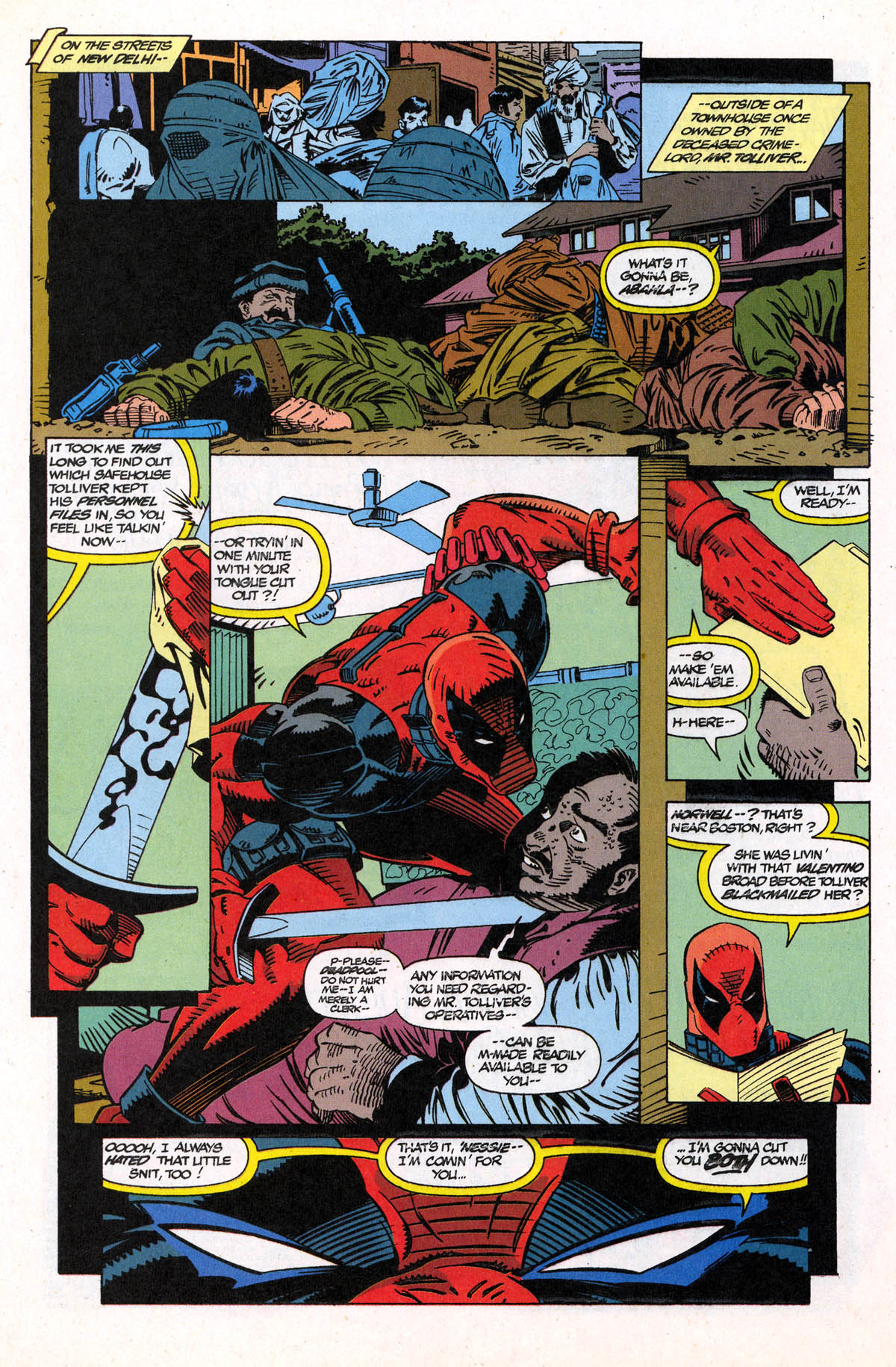 Read online X-Force (1991) comic -  Issue #21 - 25