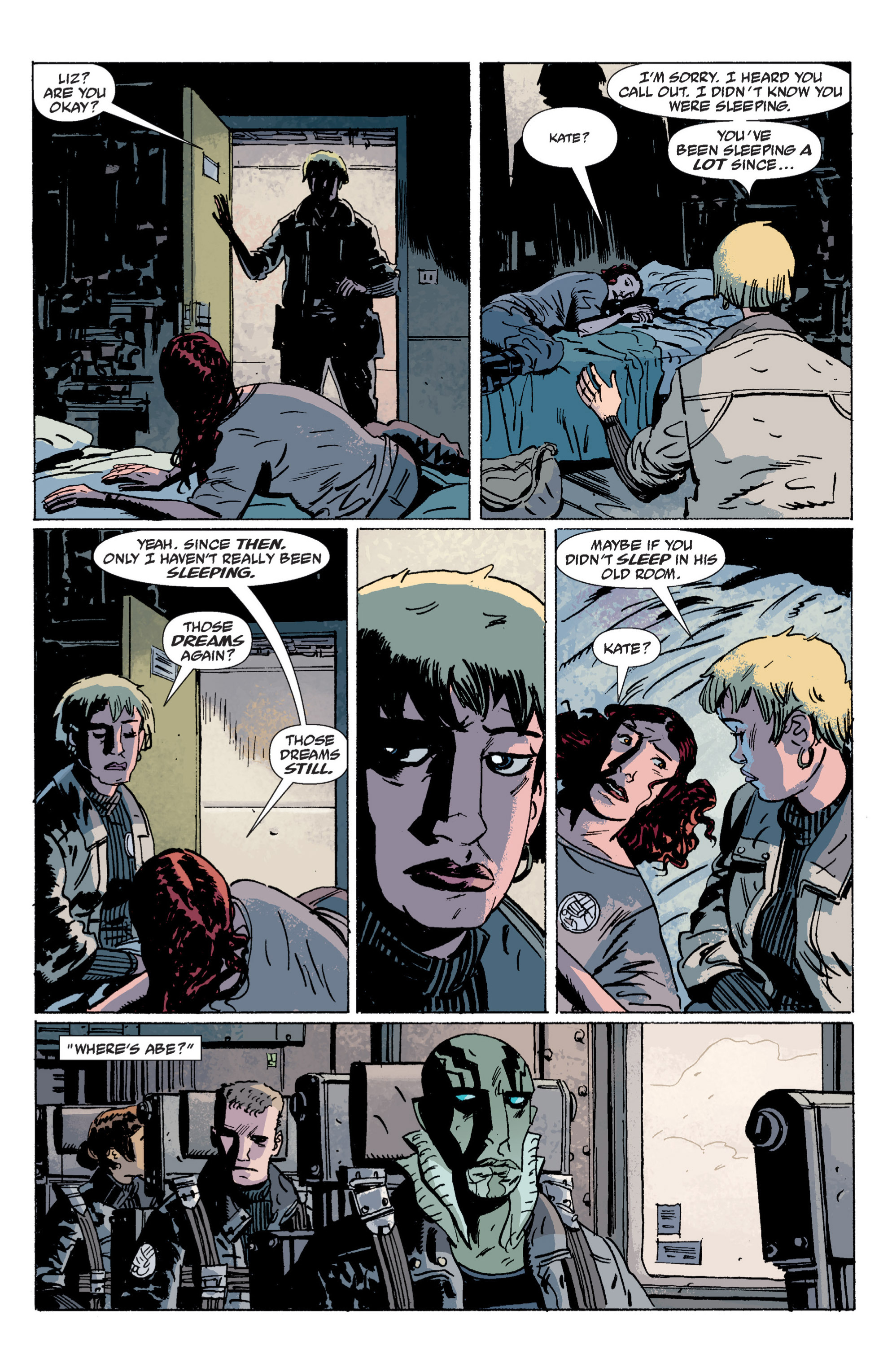 Read online B.P.R.D. (2003) comic -  Issue # TPB 5 - 96