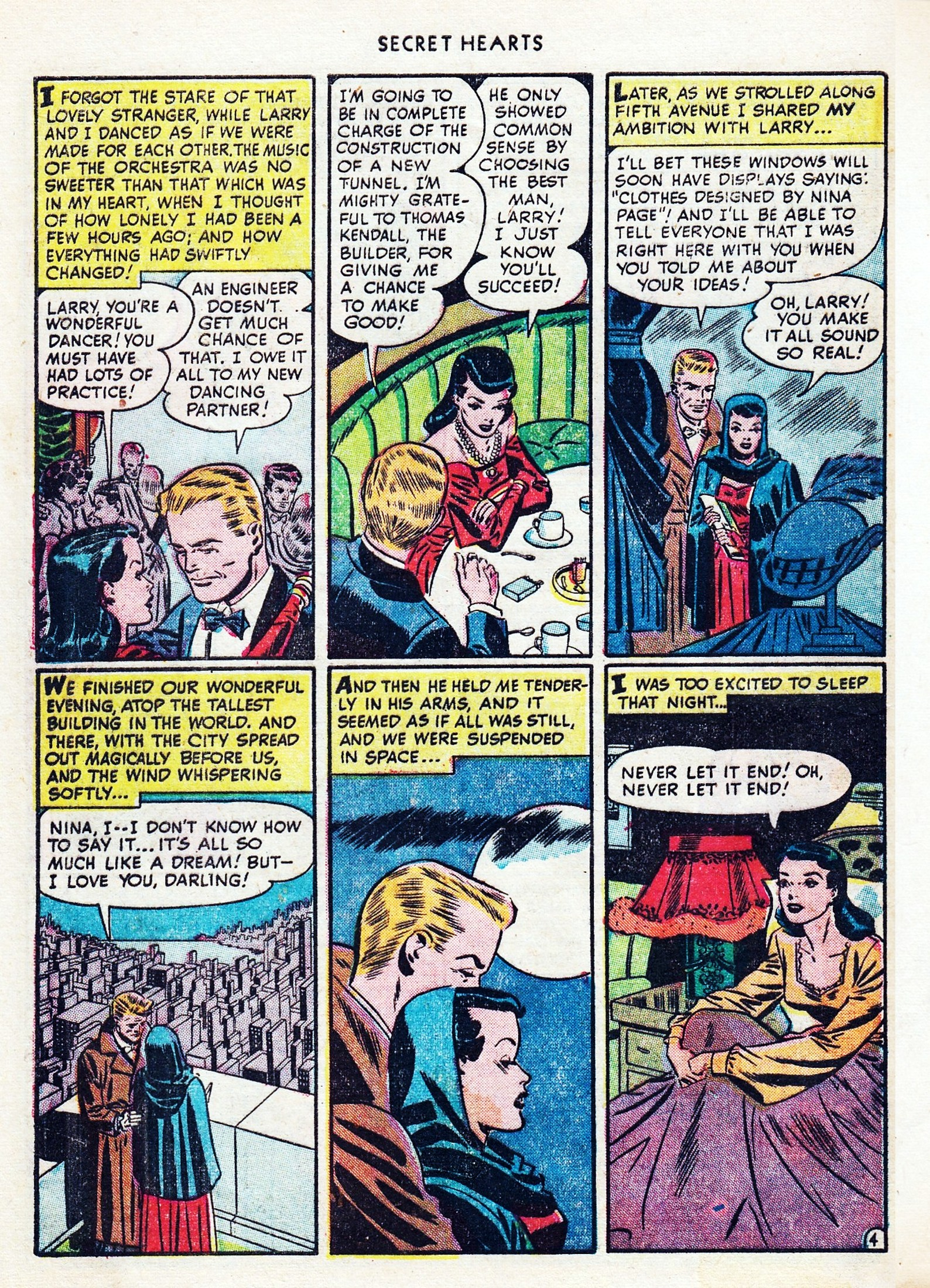Read online Secret Hearts comic -  Issue #1 - 40