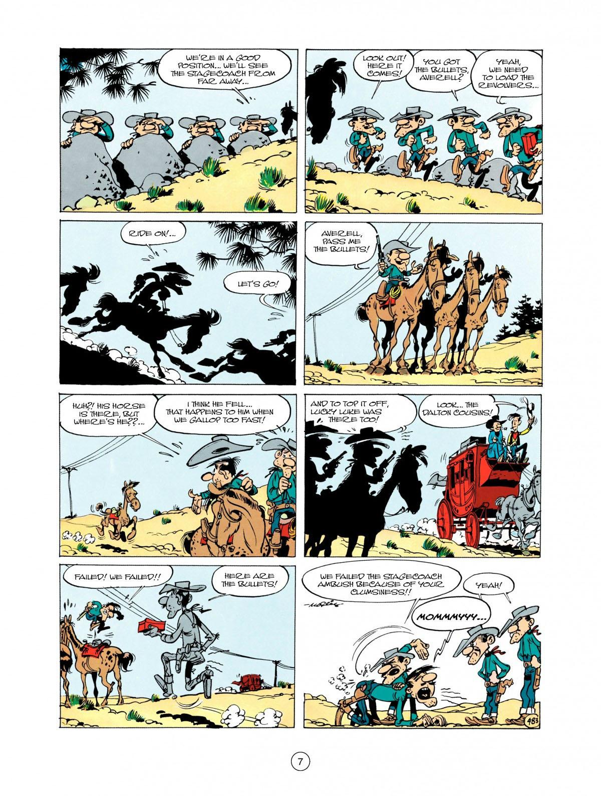 Read online A Lucky Luke Adventure comic -  Issue #28 - 8