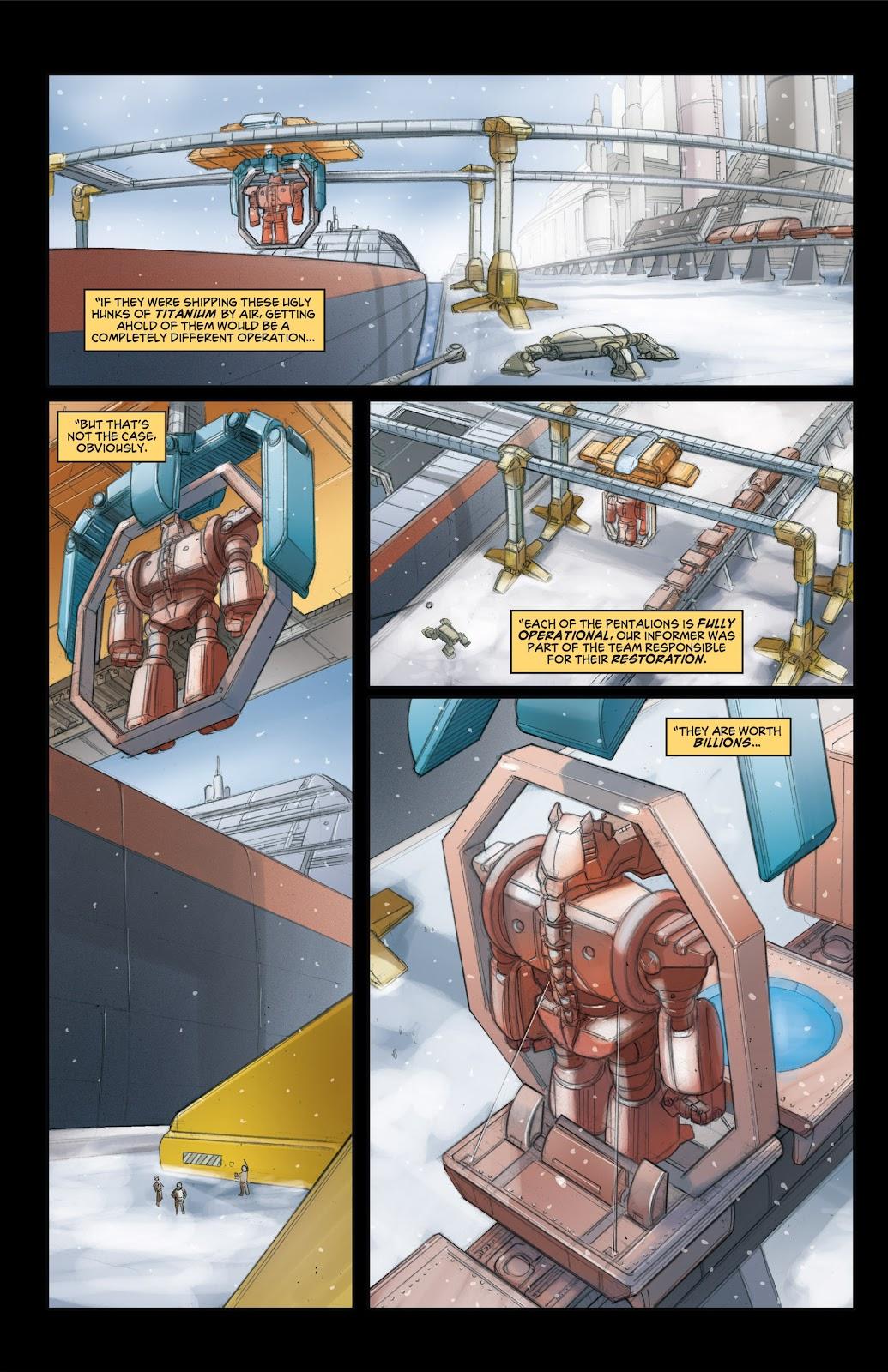 Read online Elephantmen 2261 Season Two: The Pentalion Job comic -  Issue # TPB - 25
