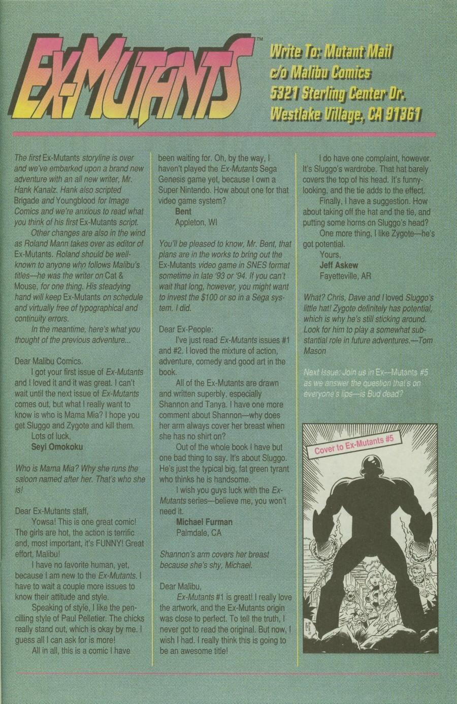 Read online Ex-Mutants comic -  Issue #4 - 30