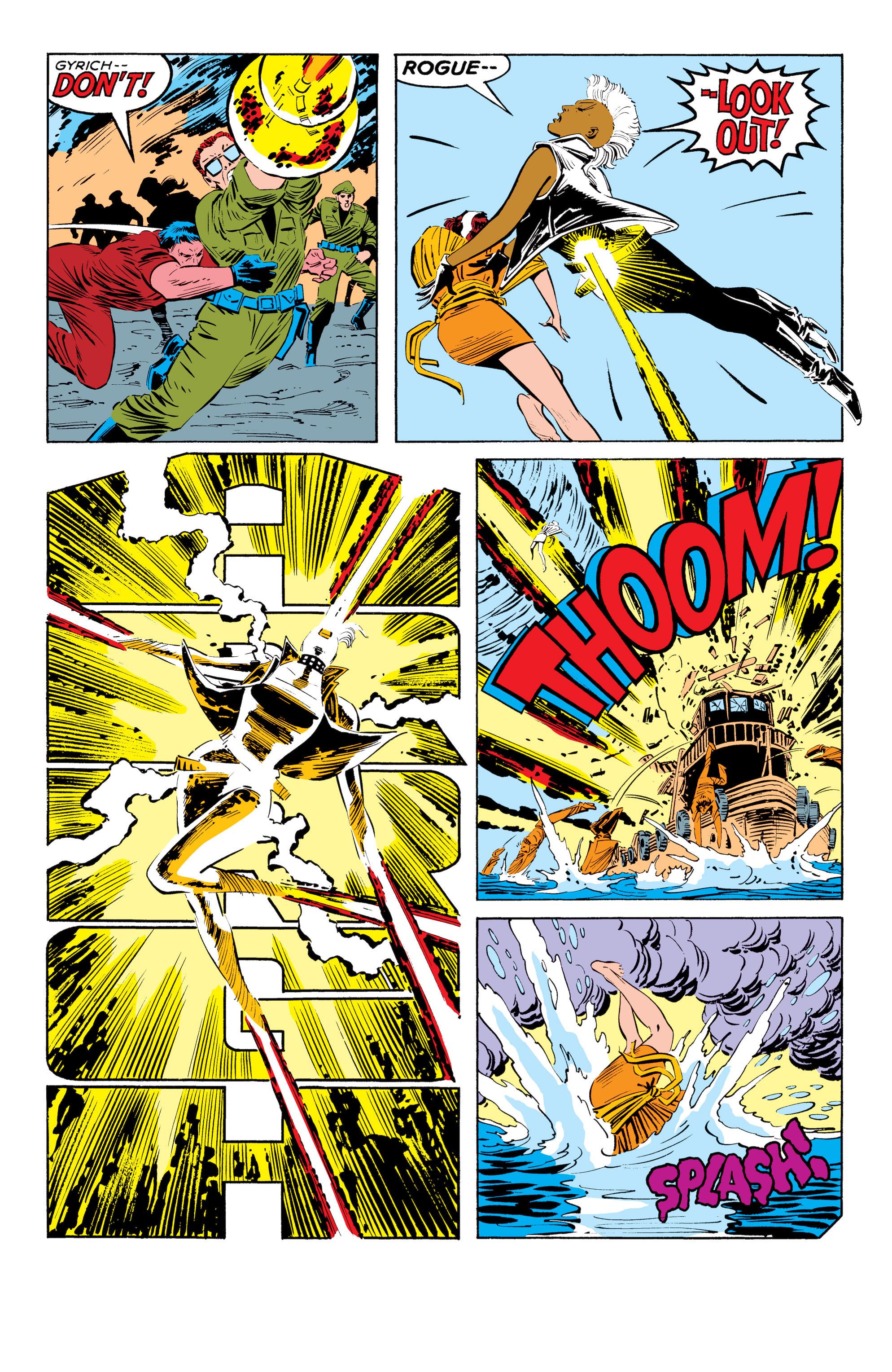 Read online Uncanny X-Men (1963) comic -  Issue #185 - 21