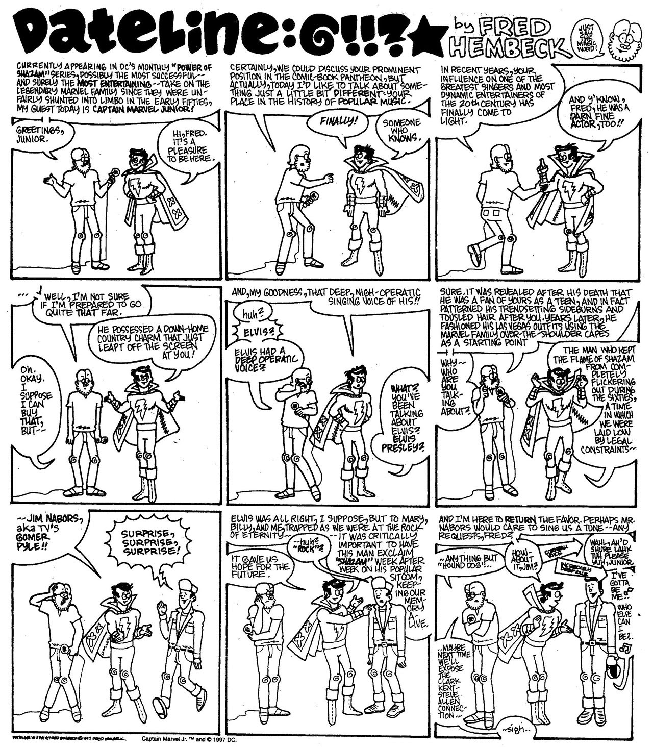Read online The Nearly Complete Essential Hembeck Archives Omnibus comic -  Issue # TPB (Part 7) - 34