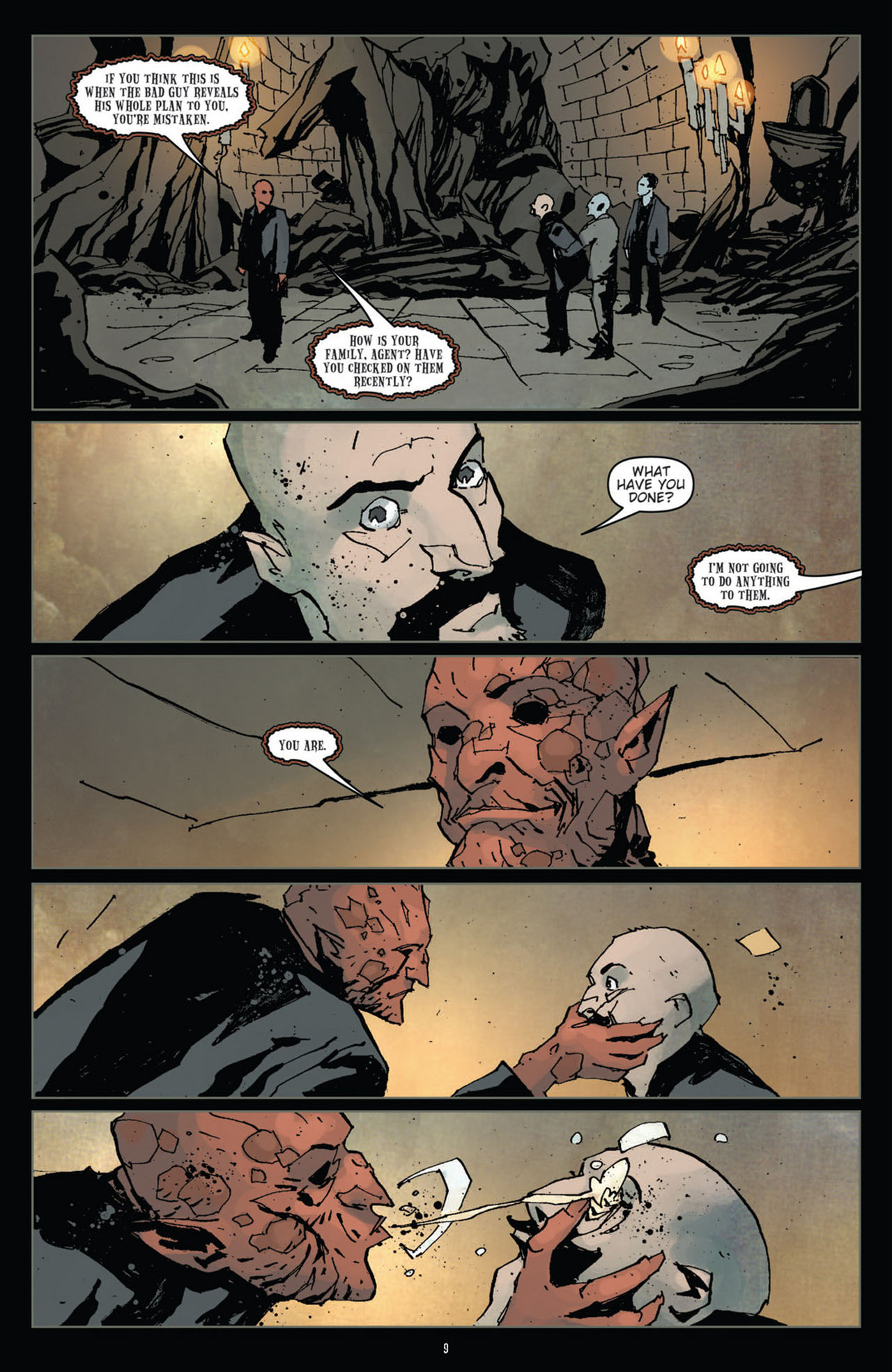 Read online 30 Days of Night (2011) comic -  Issue #11 - 11