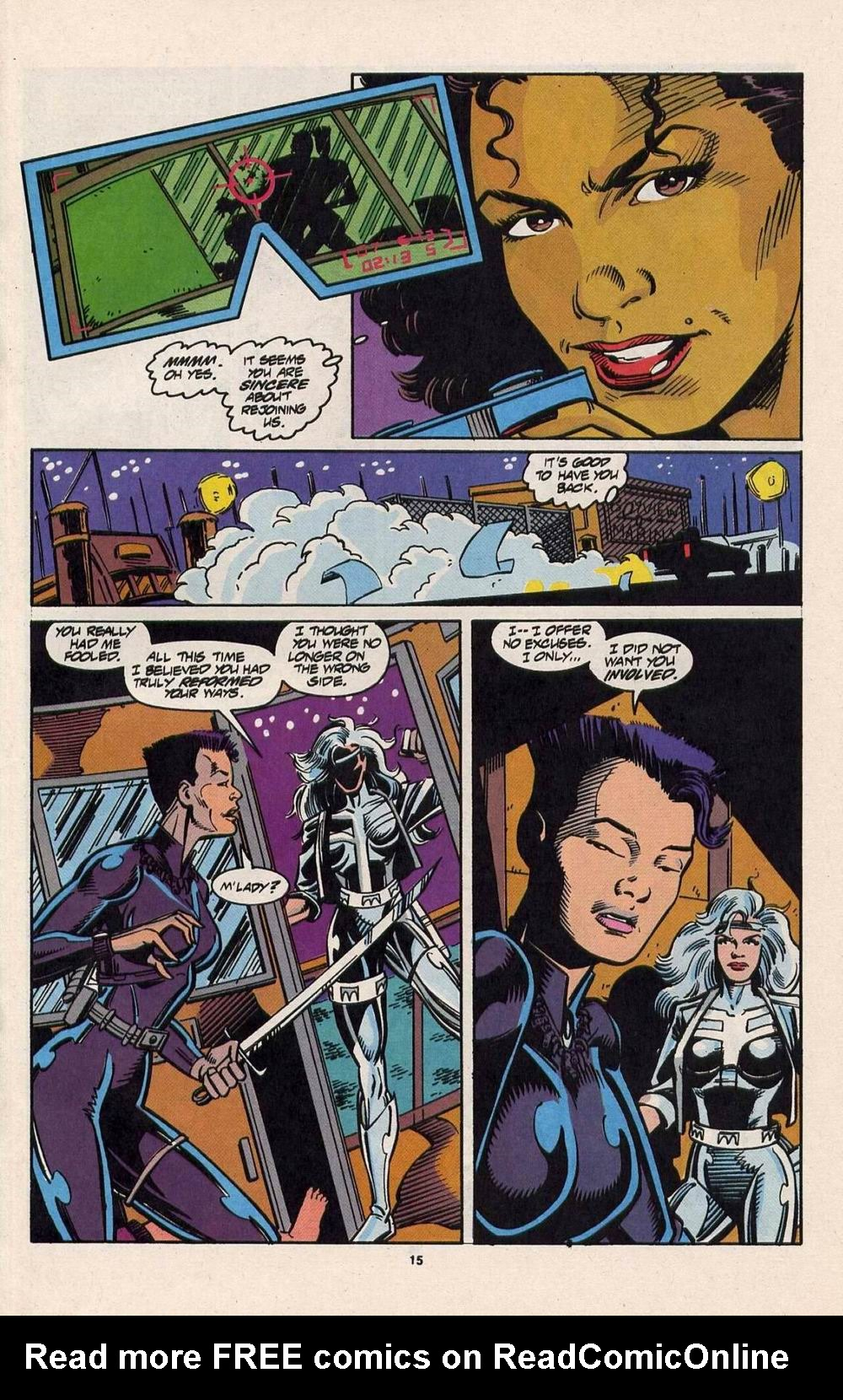 Read online Silver Sable and the Wild Pack comic -  Issue #28 - 12