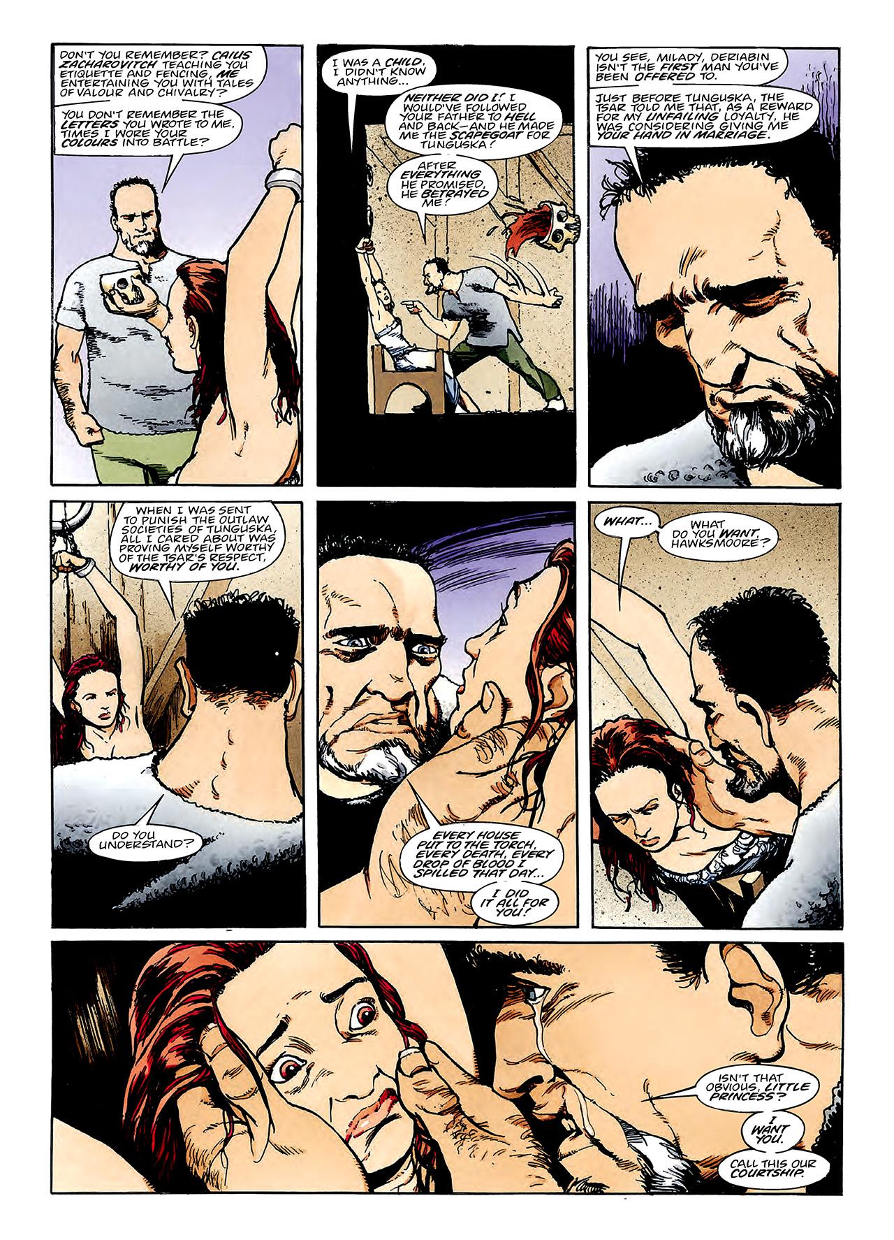 Read online Nikolai Dante comic -  Issue # TPB 3 - 84