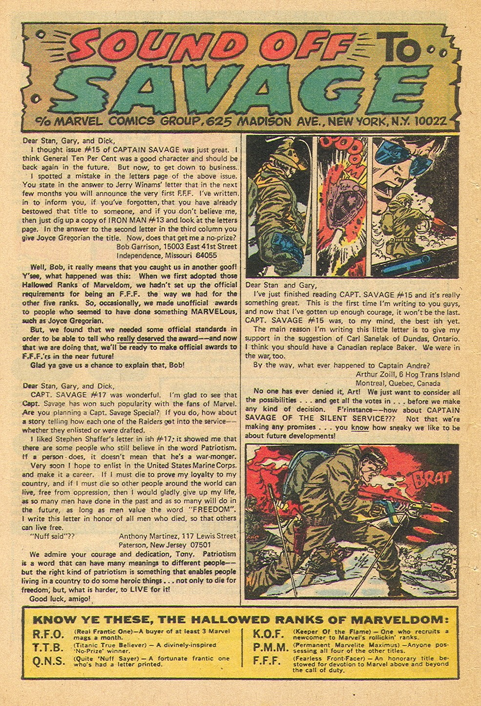 Captain Savage and his Leatherneck Raiders issue 19 - Page 32