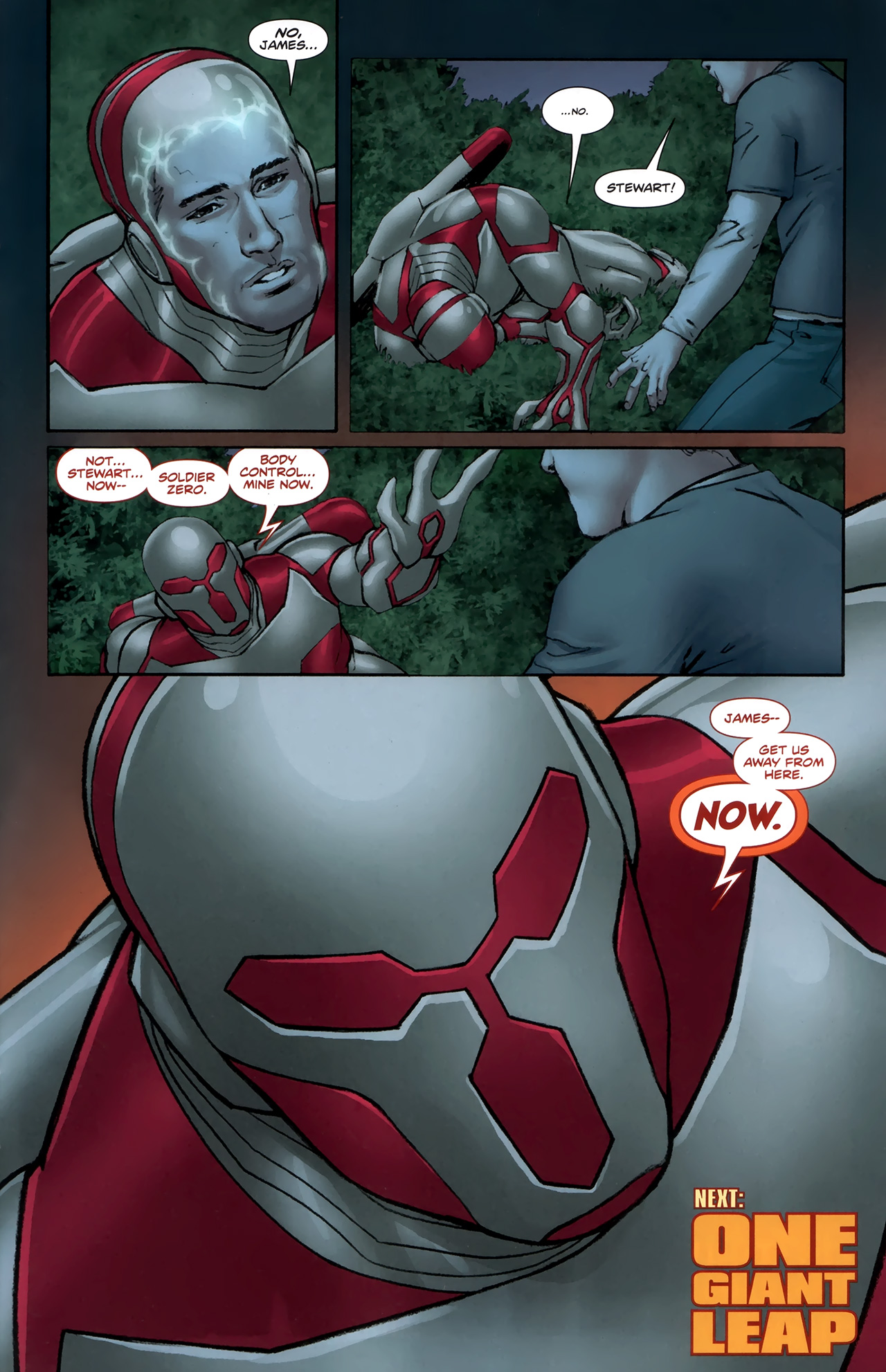 Read online Soldier Zero comic -  Issue #1 - 26