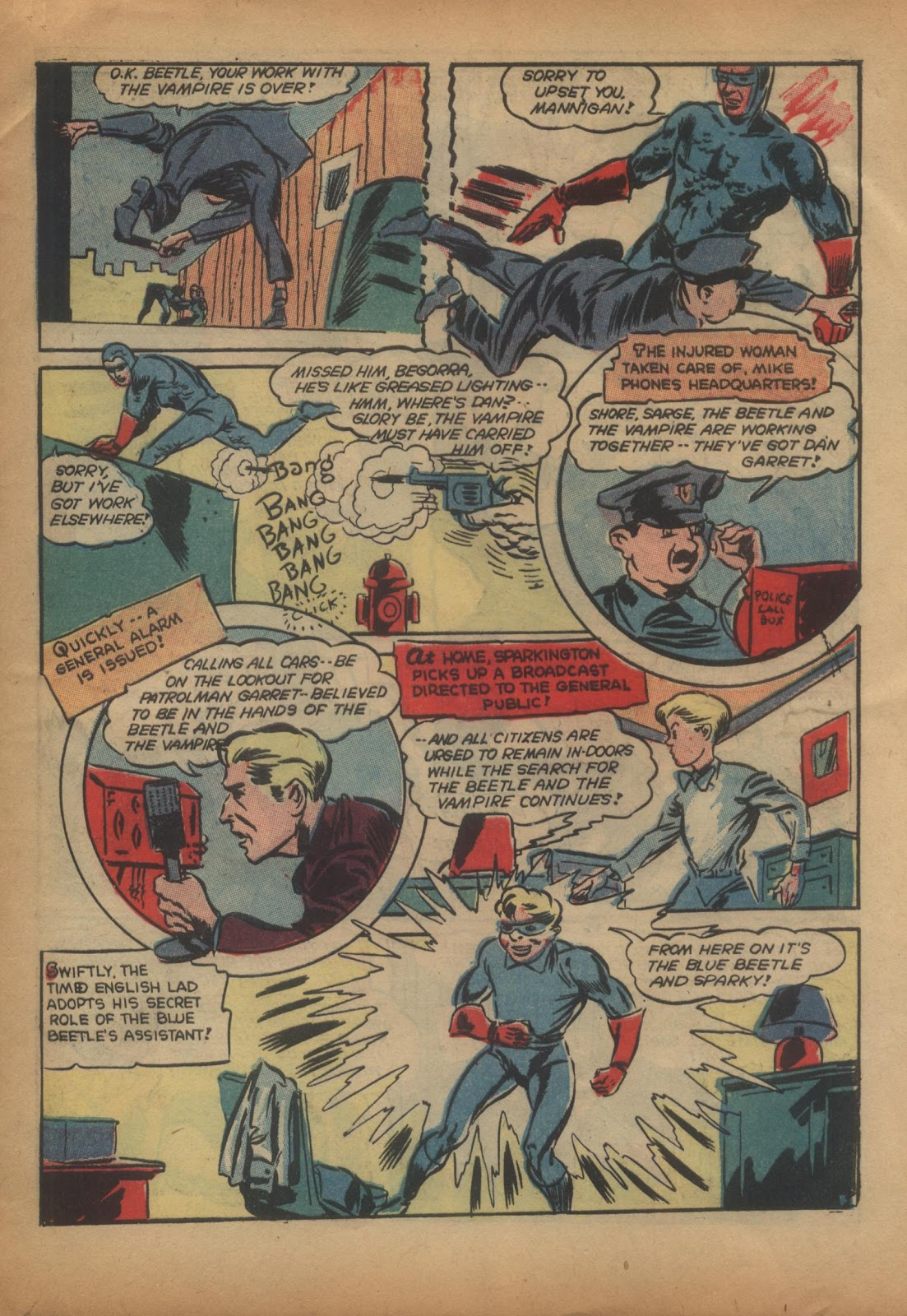 The Blue Beetle issue 15 - Page 57