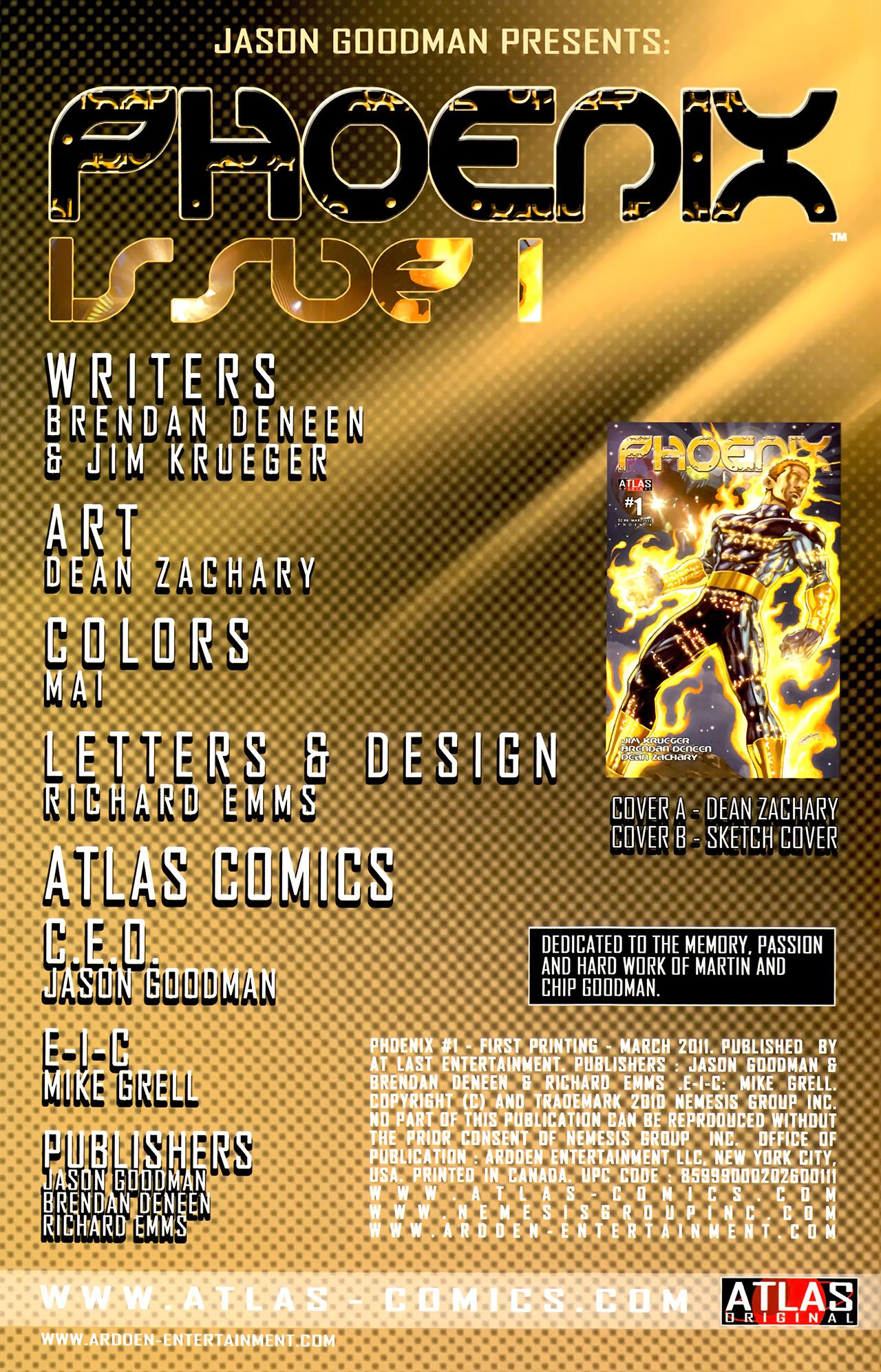 Read online Phoenix comic -  Issue #1 - 3