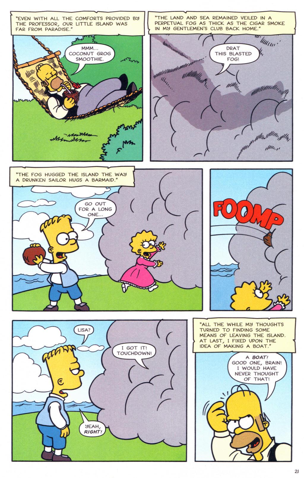 Read online Simpsons Comics comic -  Issue #127 - 18